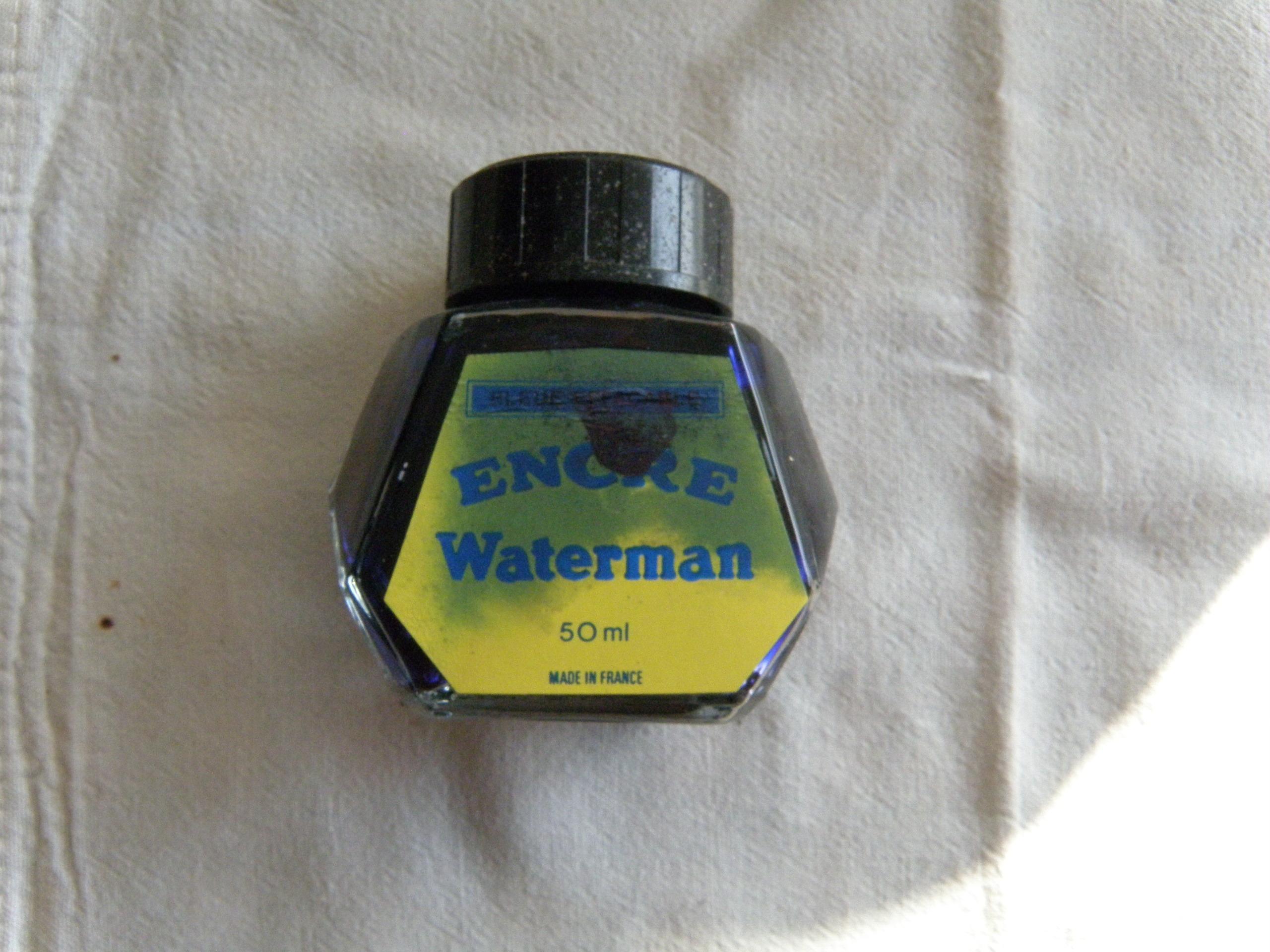troc de troc réservé dauvpic bouteille encre waterman bleu, à moitié image 0