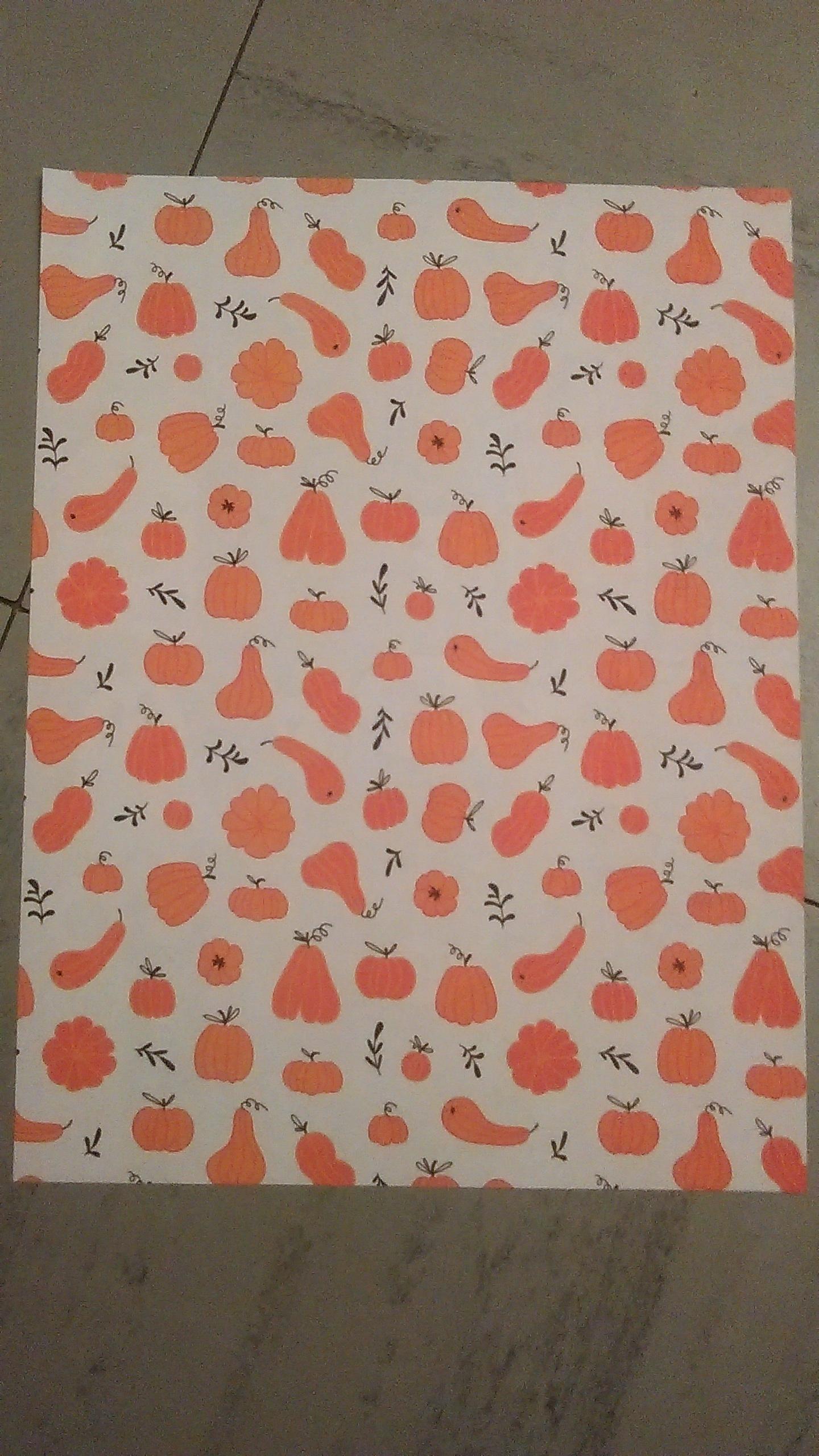 """troc de troc papier créatif """"halloween"""". image 0"""