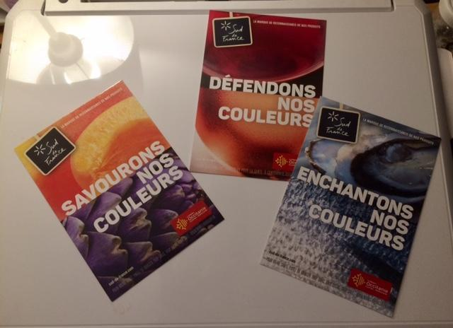 troc de troc gratuit: 3 cartes postales occitanie neuves image 0