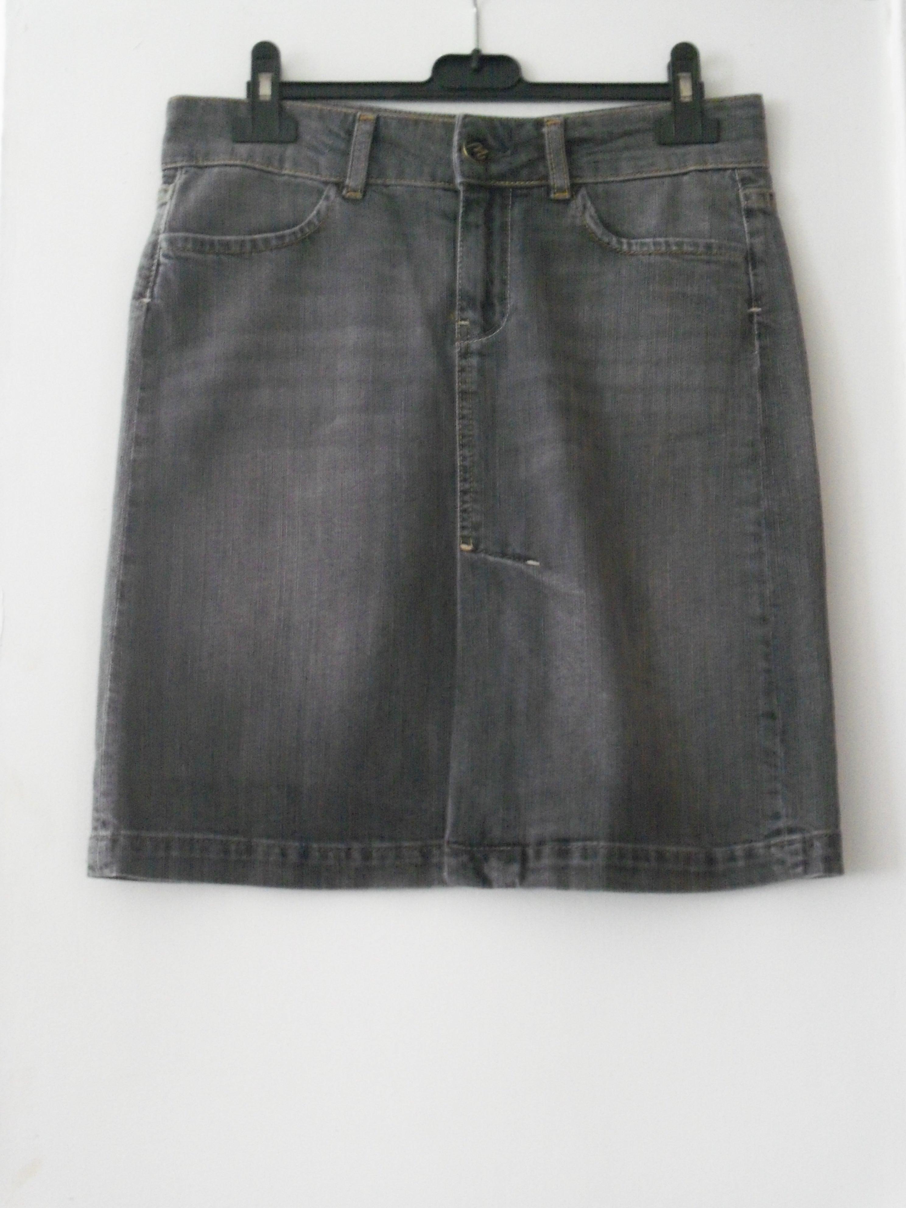 troc de troc jupe mango en jeans neuve t.38 image 0
