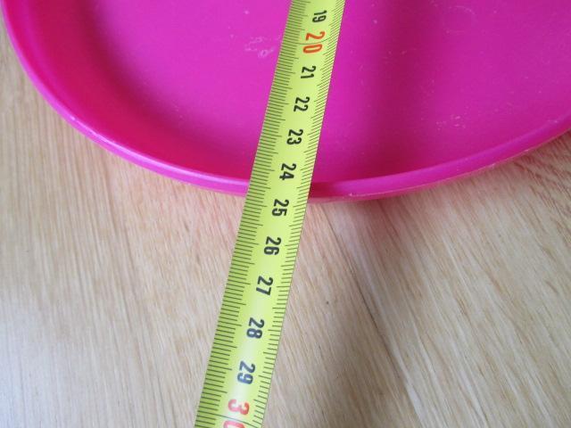 troc de troc à lyon = frisbee / disque volant rose image 1