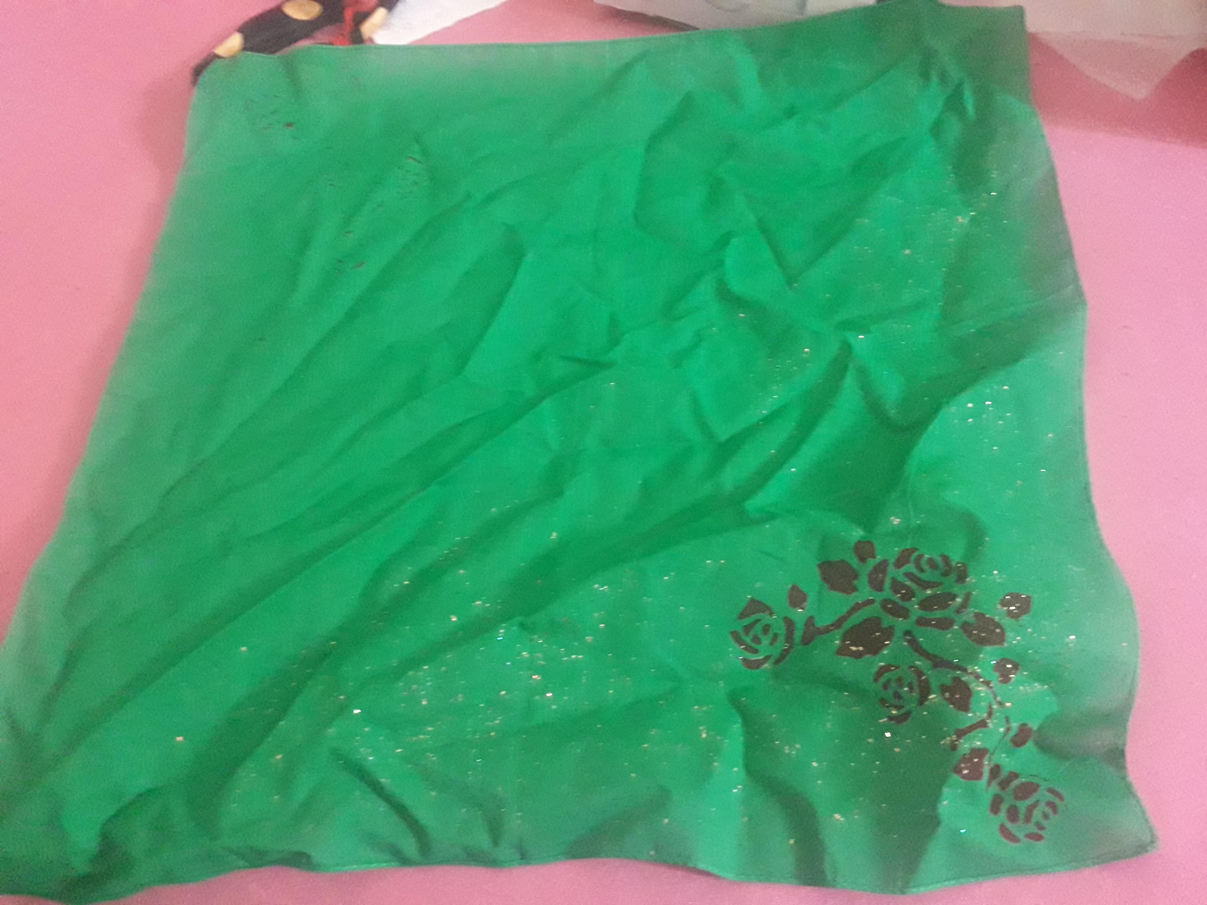 troc de troc foulard vert image 0