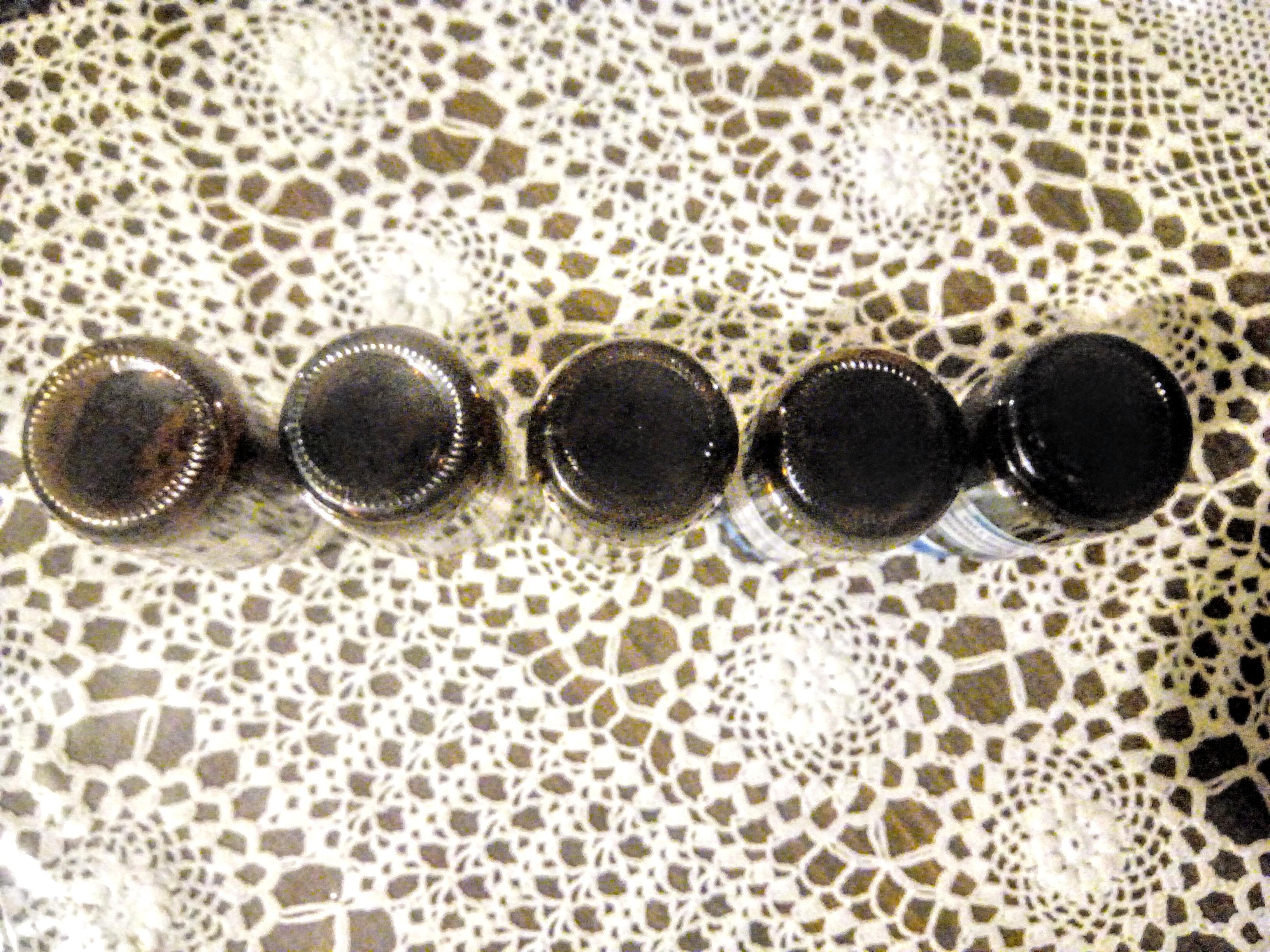 troc de troc 5 flacons vides en verre marron image 2