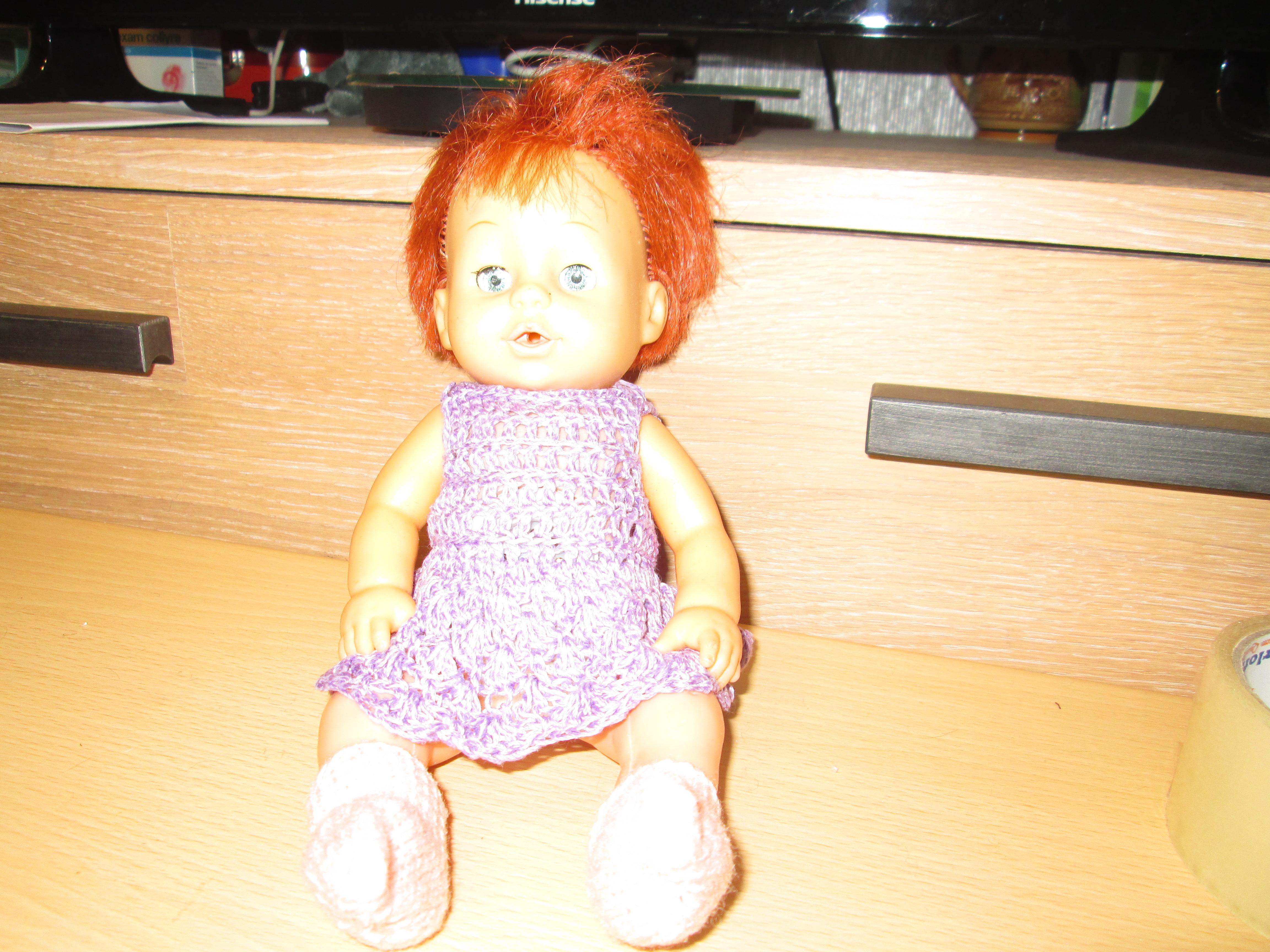 troc de troc poupée retro  pour collection   3 noisettes image 0