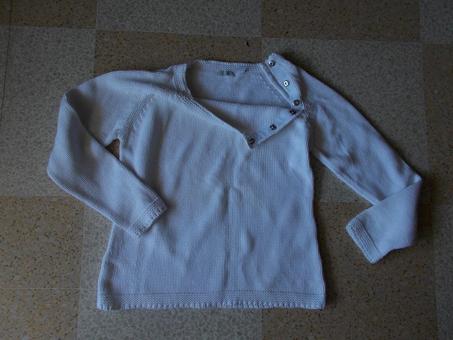 troc de troc pull coton blanc image 0