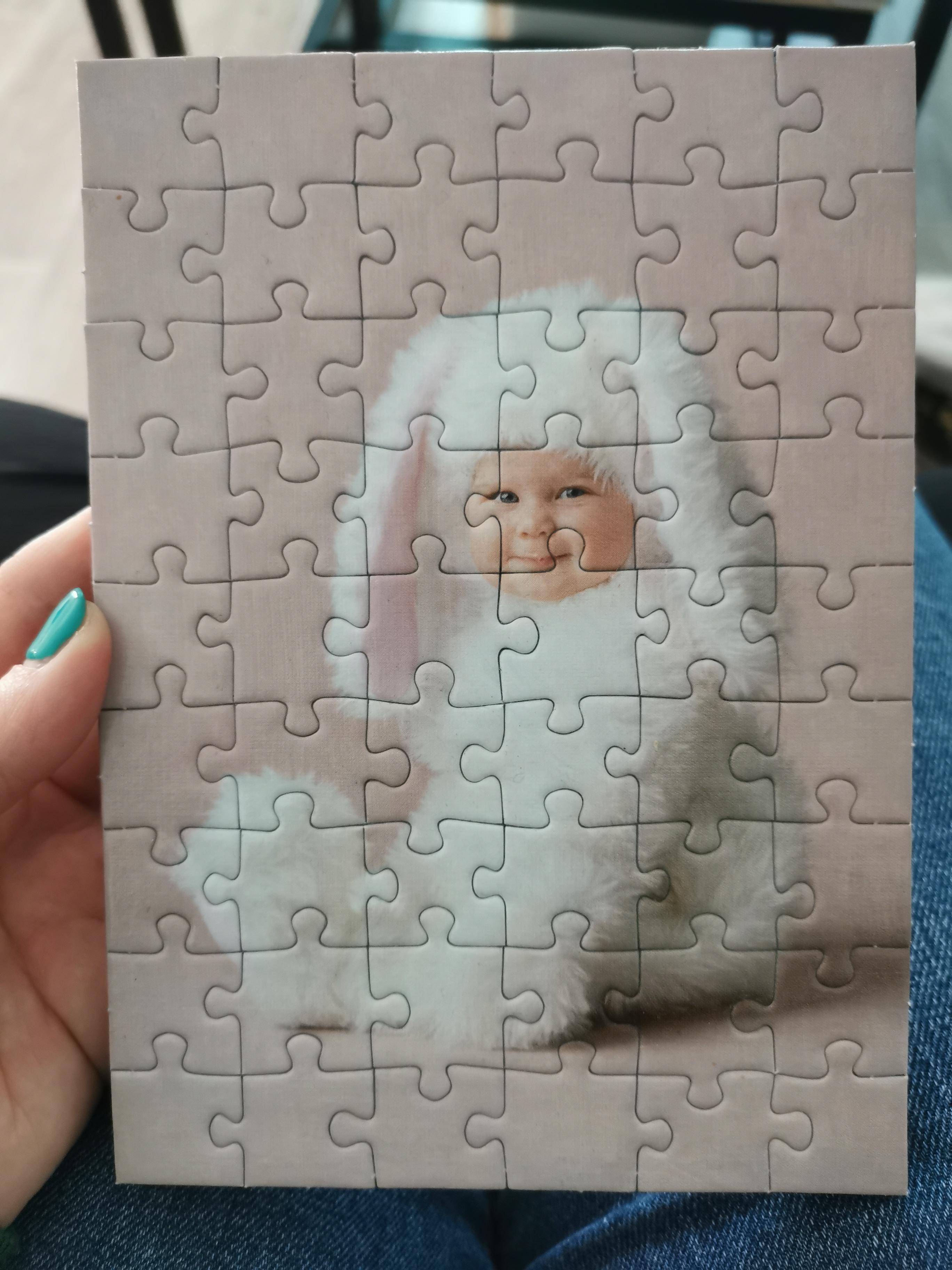 troc de troc petit cadre puzzle bébé image 0