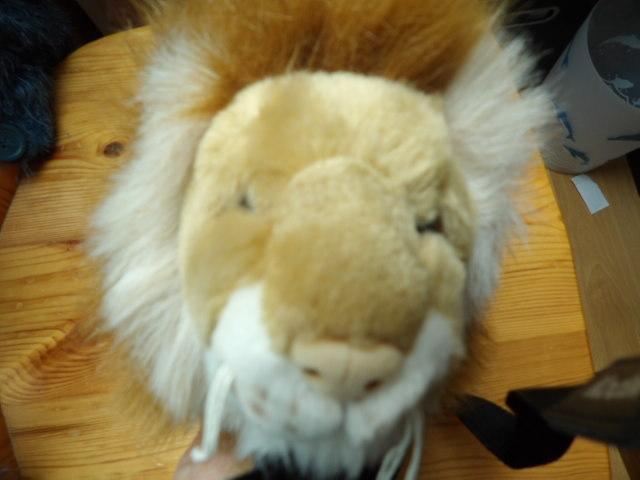 troc de troc reserve peluche lion tbe image 1