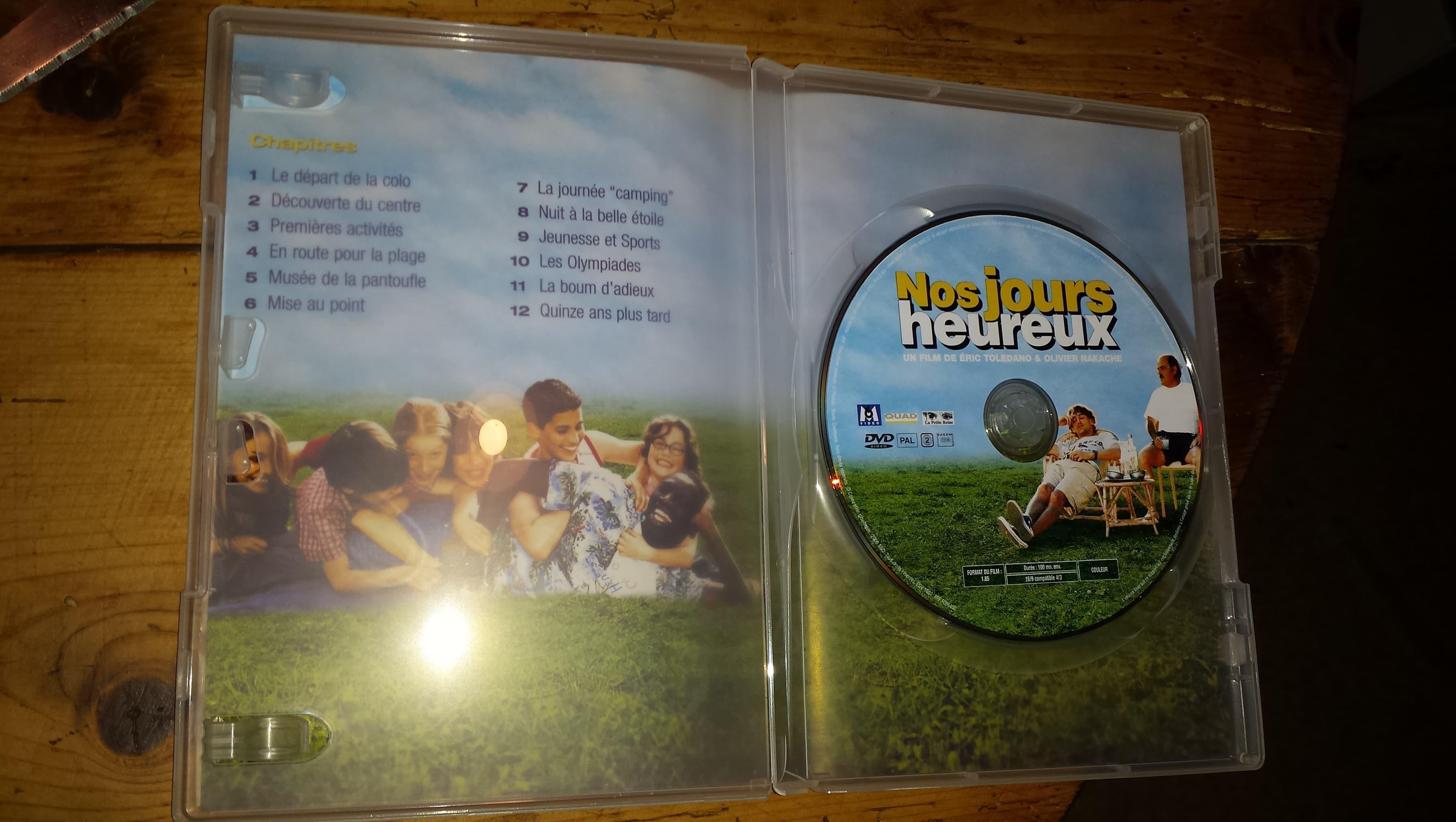 """troc de troc dvd film """"nos jours heureux"""" image 2"""
