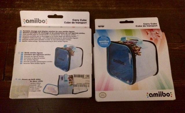 troc de troc neuf: lot 2 cubes étuis transport pour figurines amiibo image 2