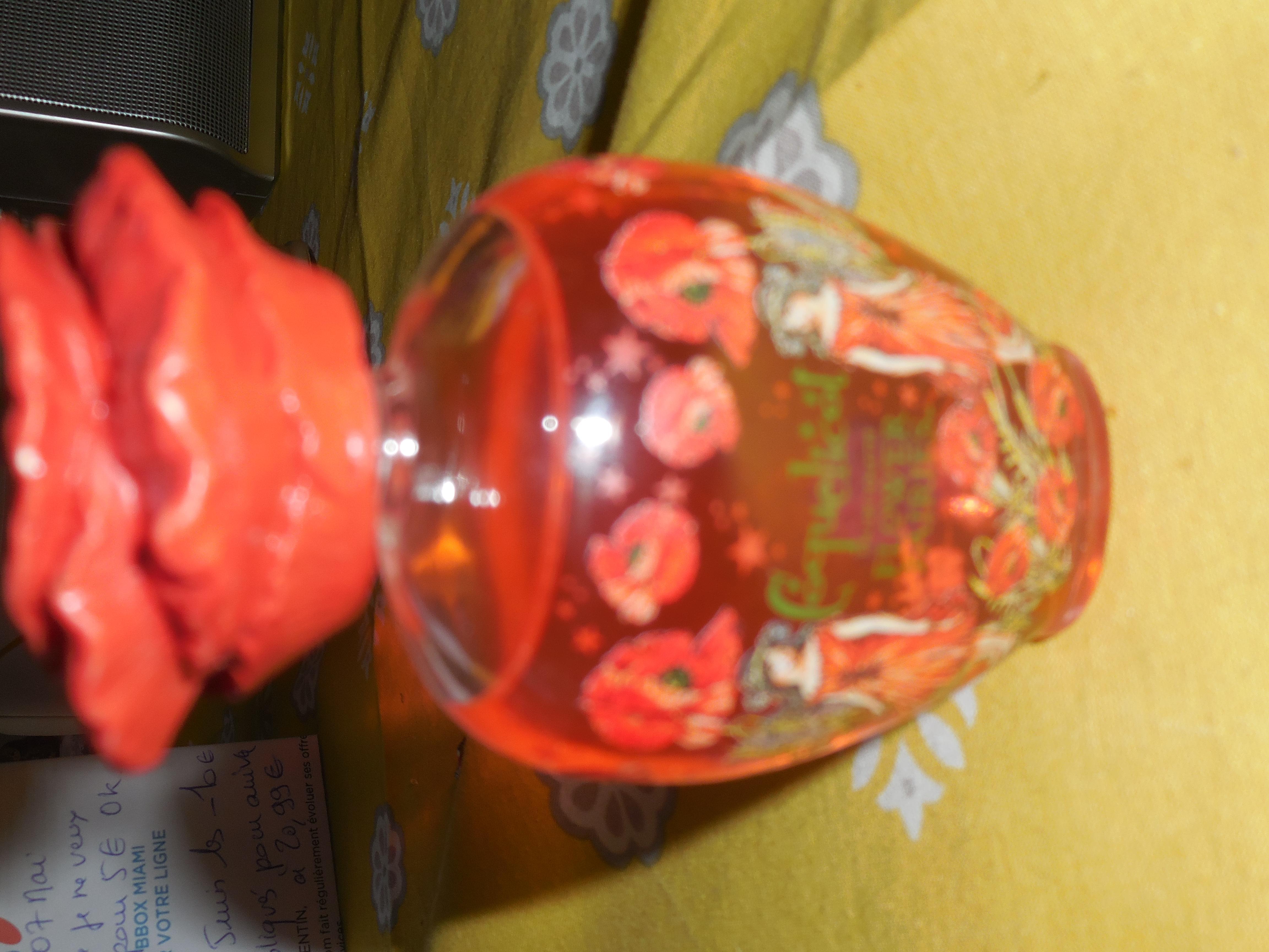 troc de troc flacon flower fairies coquelicot resefvé lilirose image 0