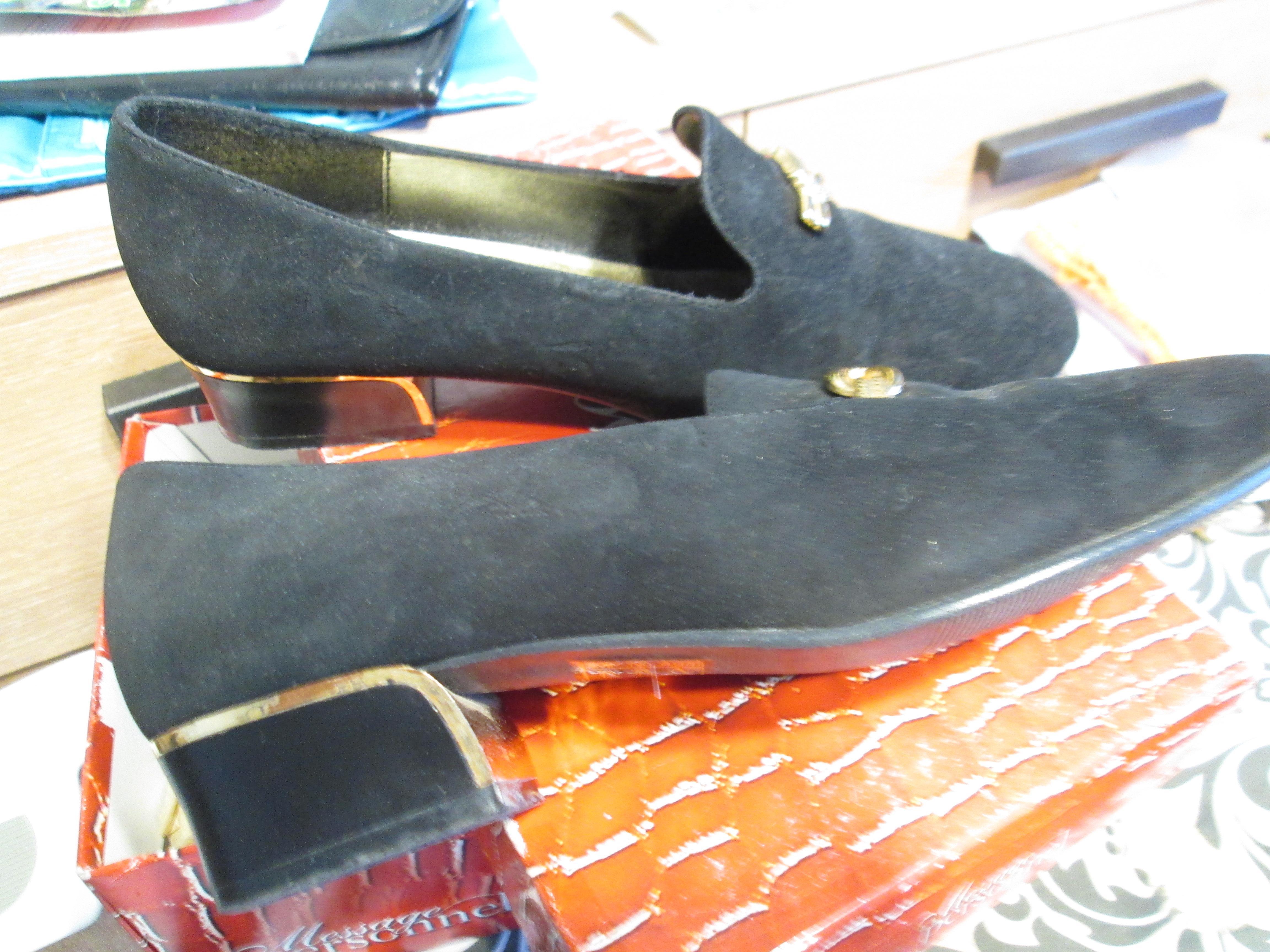 troc de troc très jolie souliers noir habillé pour les fêtes pointure 39 image 1
