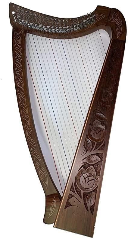 troc de troc cours de harpe celtique/solfège (direct ou internet) contre panier bio / massage dos image 0