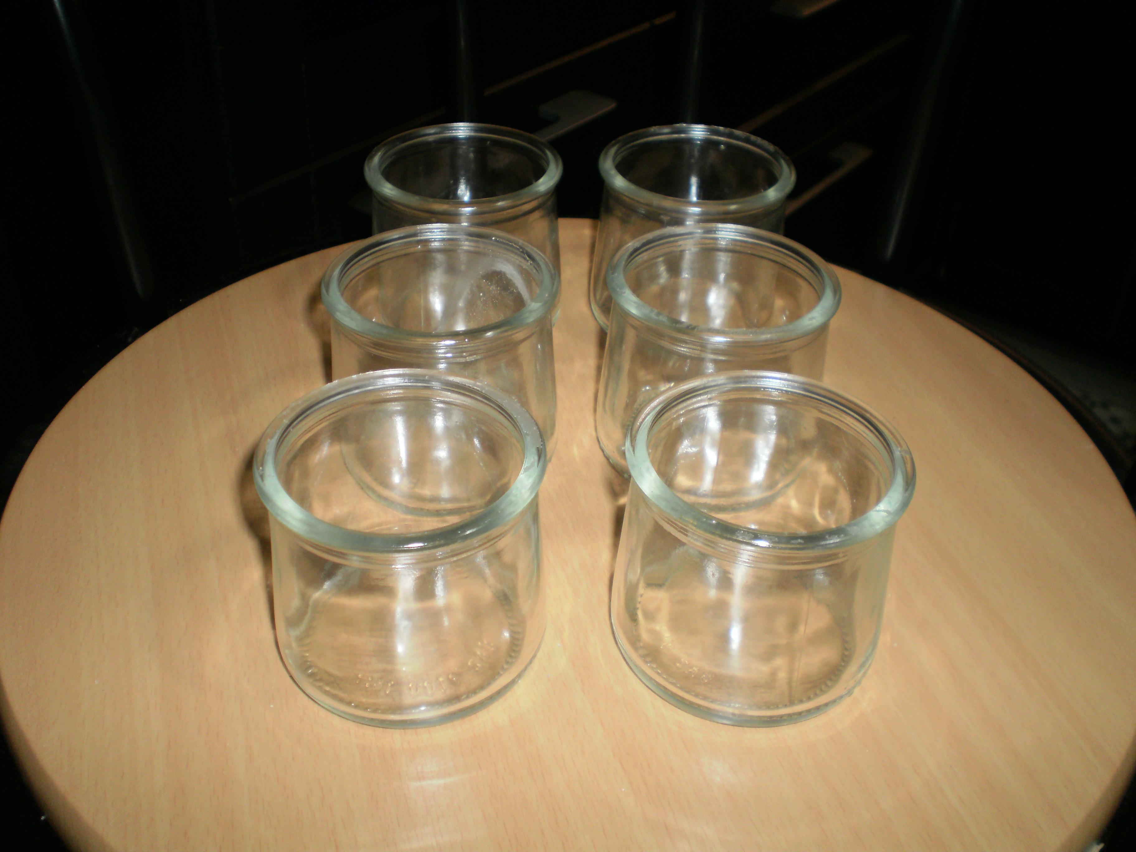 troc de troc 6 pots créme dessert en verre nfs image 0