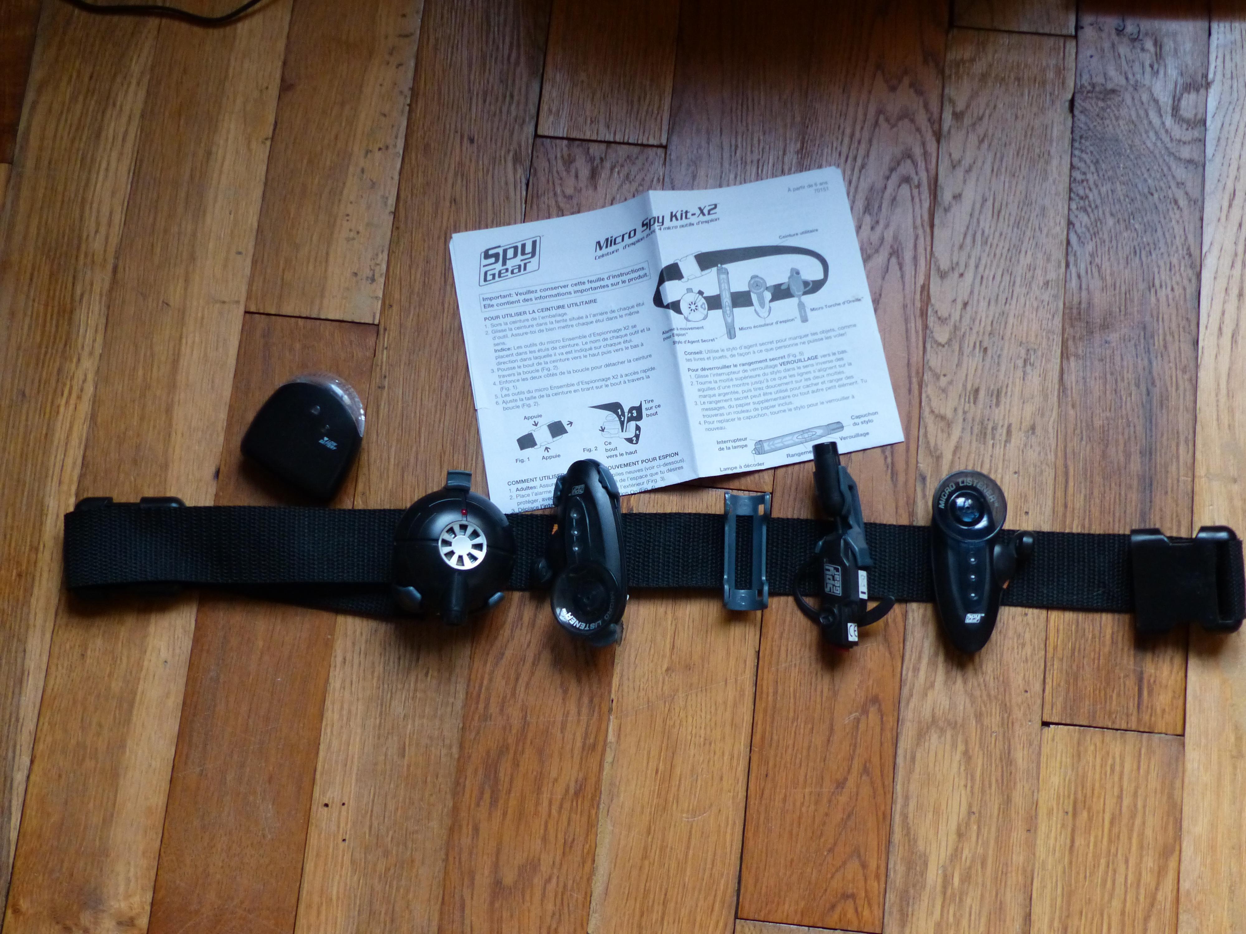 troc de troc jouet spy gear image 0