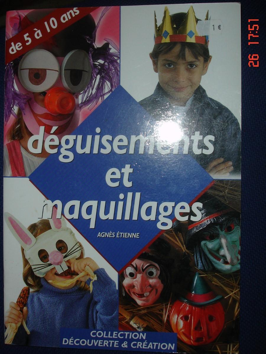 troc de troc magazine déguisements & maquillages pour 5 à 10 ans (116g) image 0