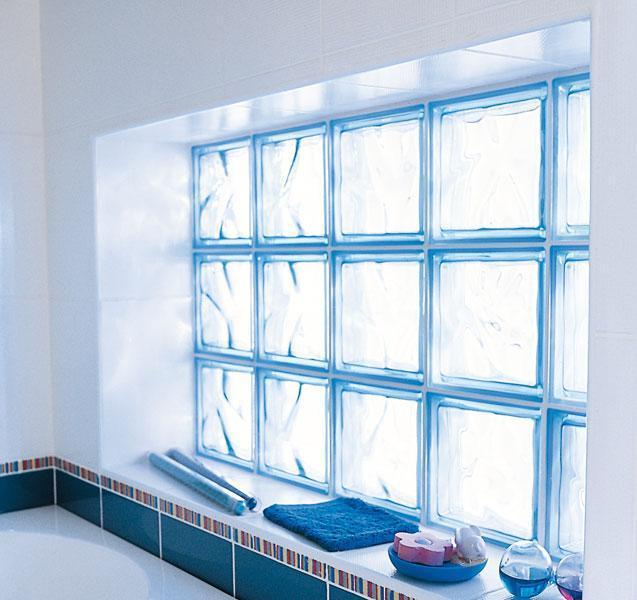 troc de troc lot 16 paves / briques / carrés / carreaux de verre transparent pret à poser image 1