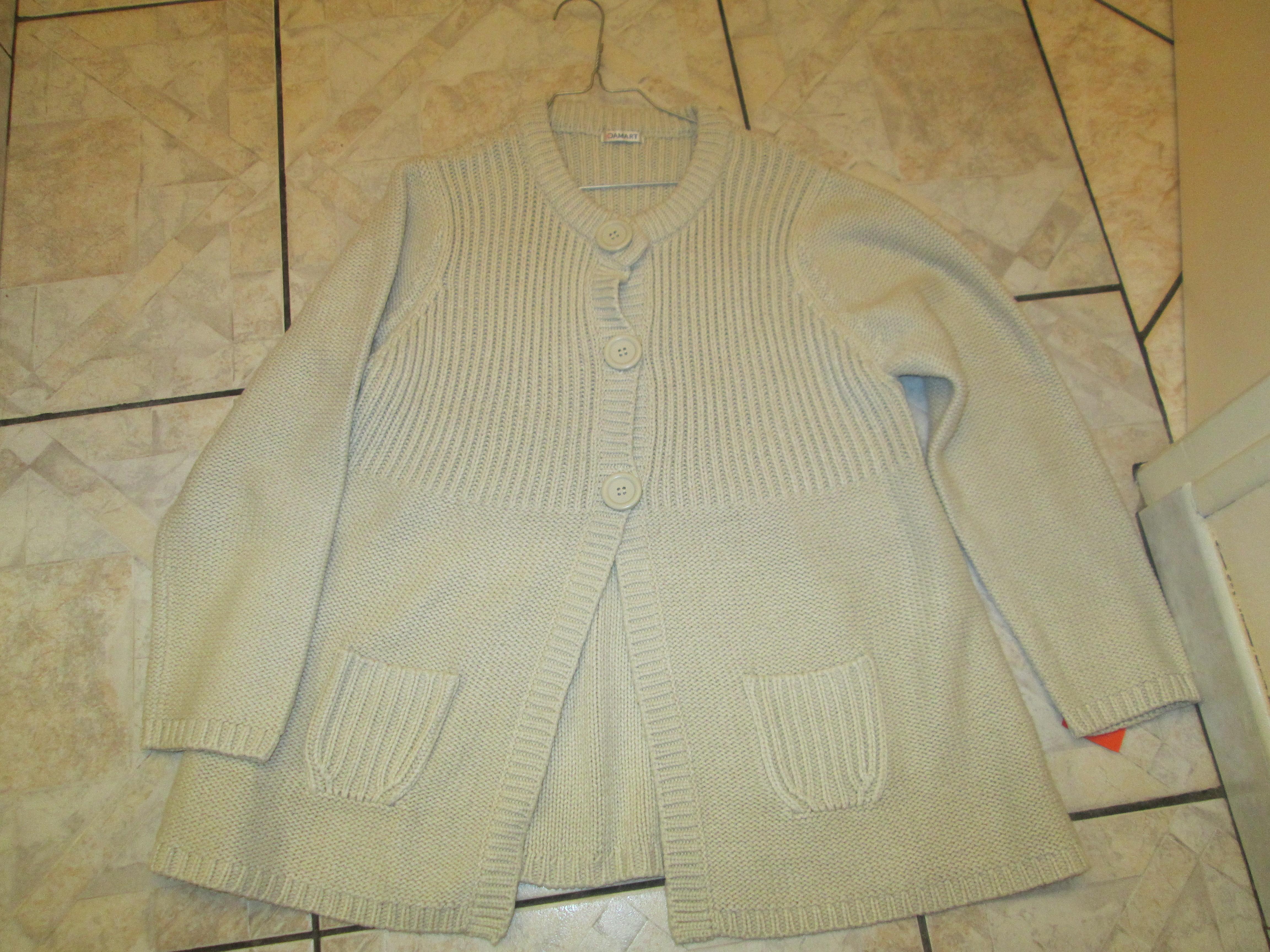 troc de troc reserve    veste de laine damard  taille 46/48 25 noisettes image 2