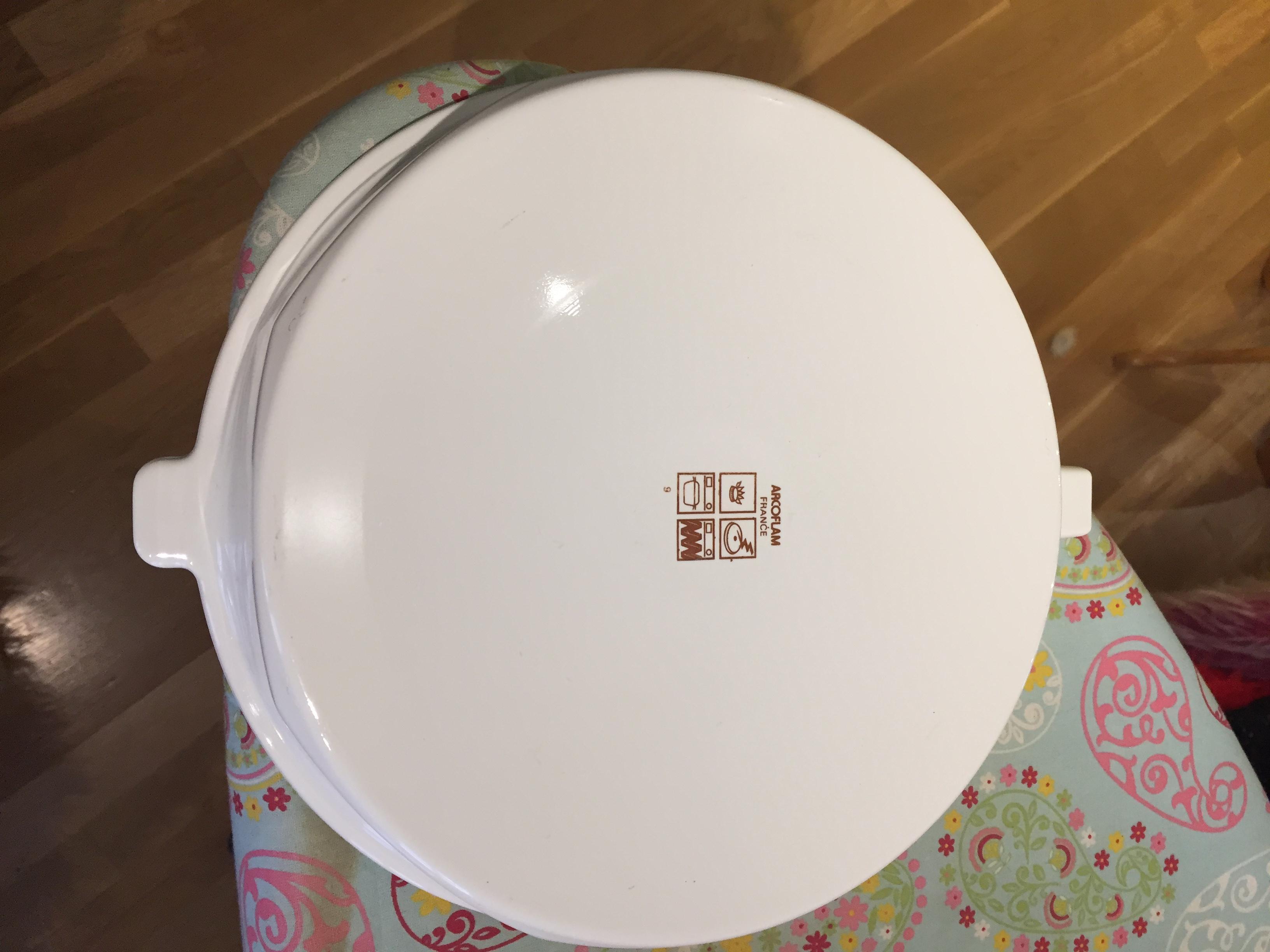troc de troc plat blanc arcoflam image 0