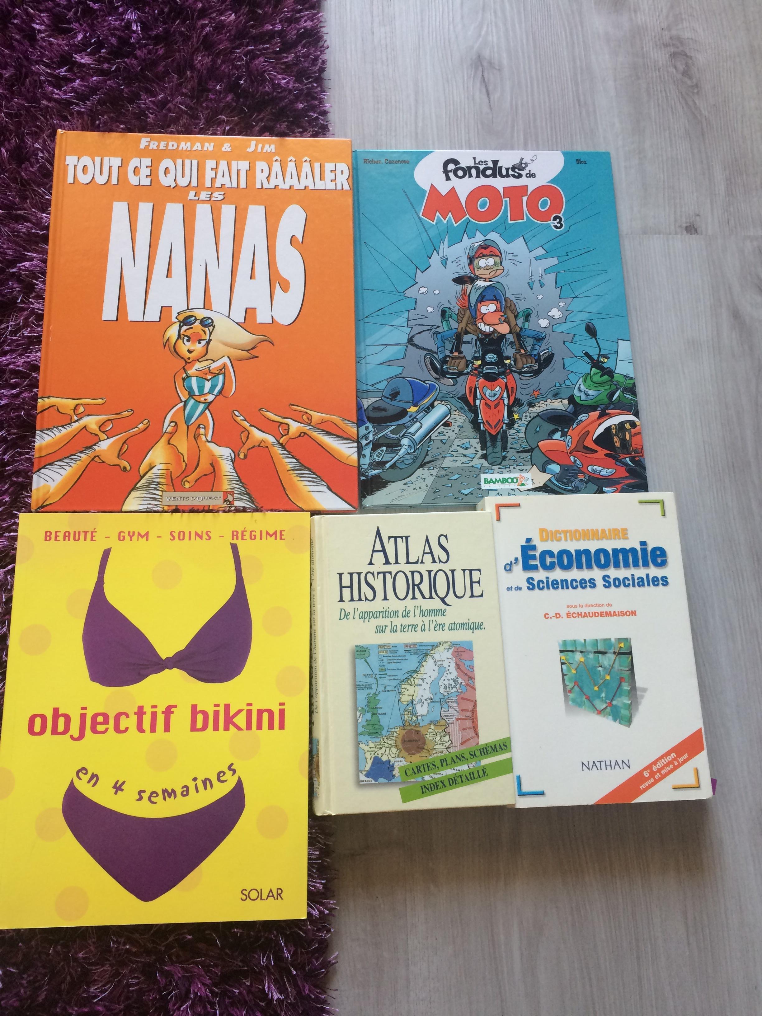troc de troc divers livres image 0