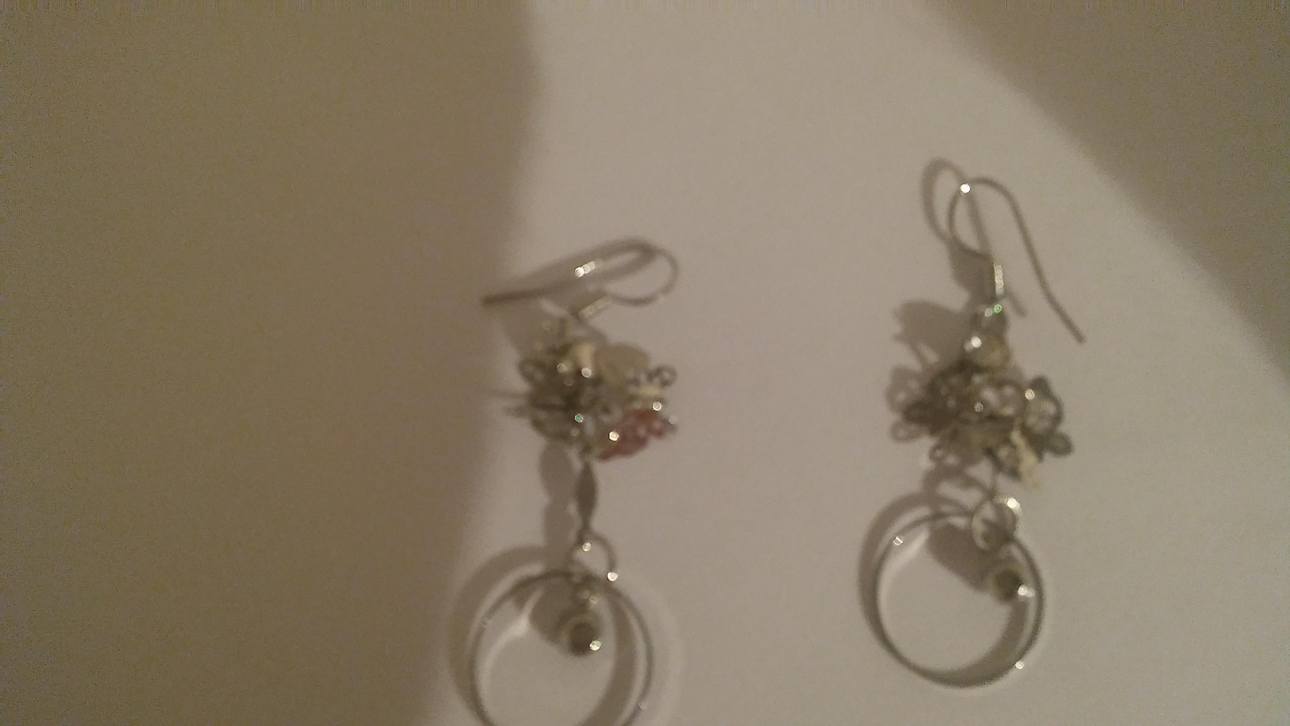 troc de troc boucles d'oreilles papillons image 0