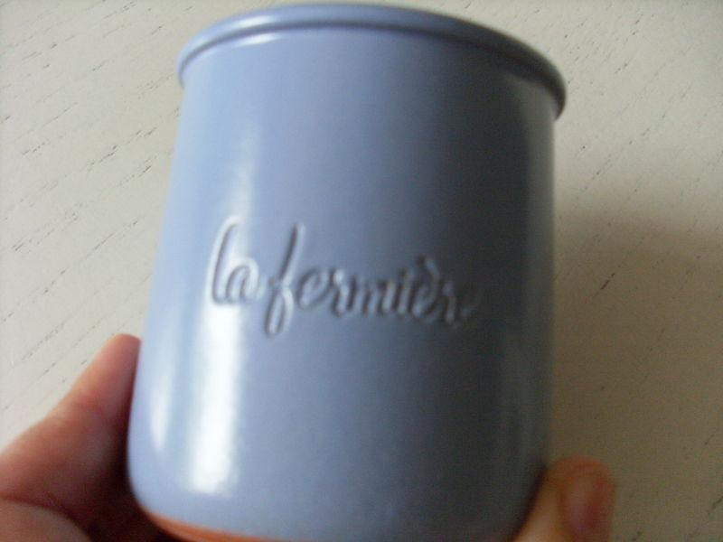 troc de troc pot yaourt terre / verre image 0