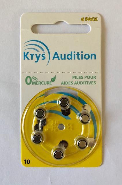 troc de troc lot 6 piles appareils auditifs - neufs - date 04/2023 image 0