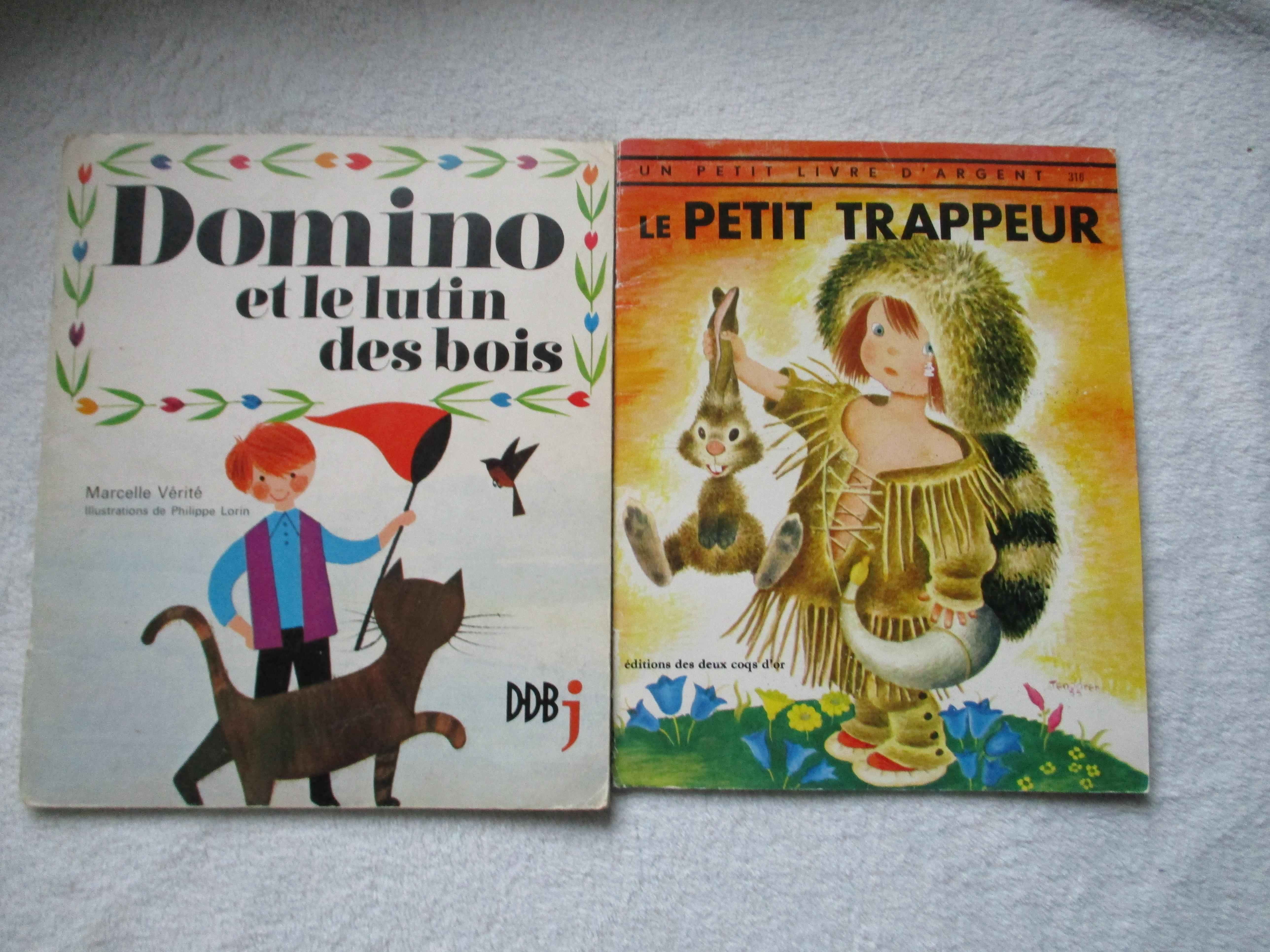 troc de troc 2 albums anciens pour enfant image 0
