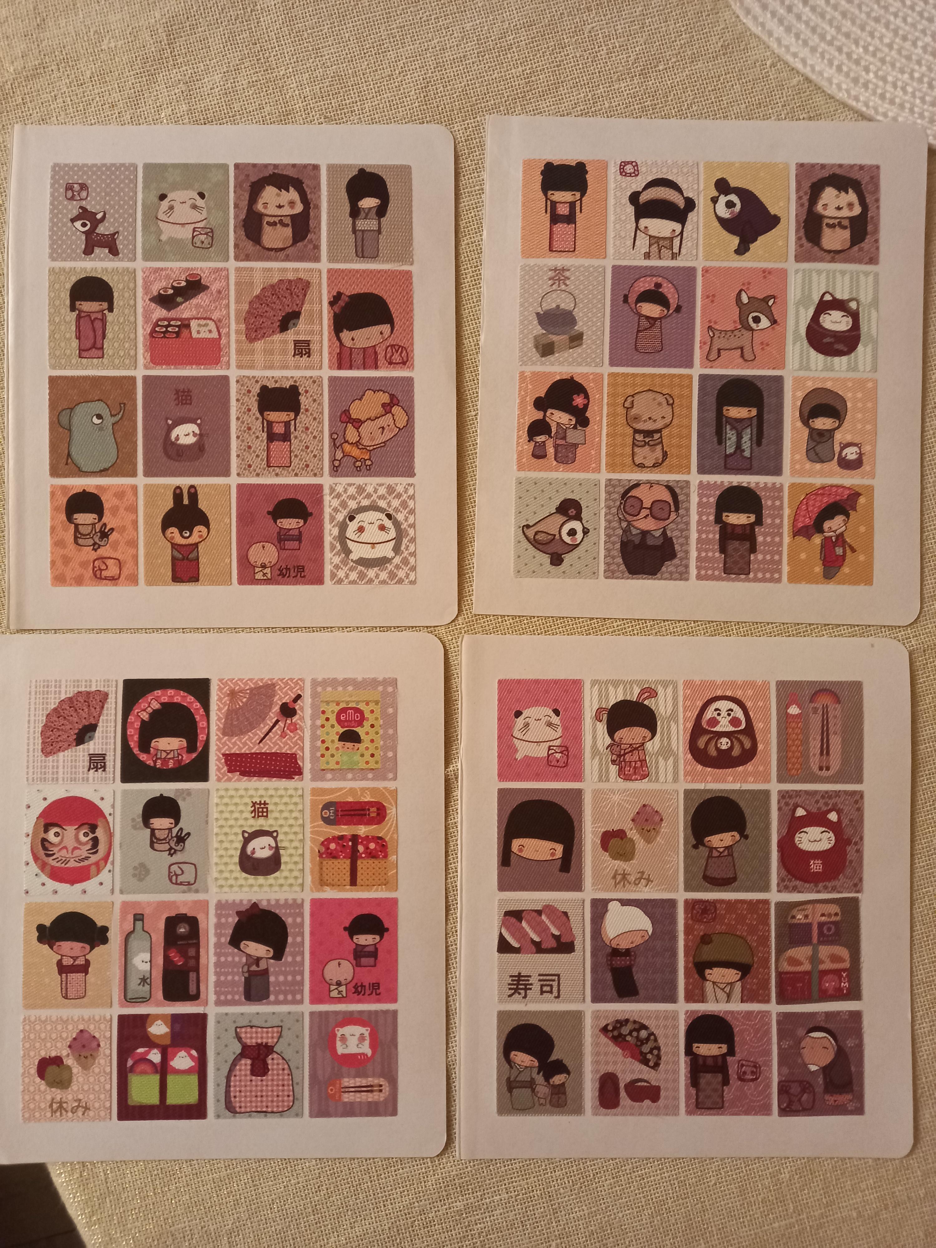 troc de troc stickers en tissu. image 0
