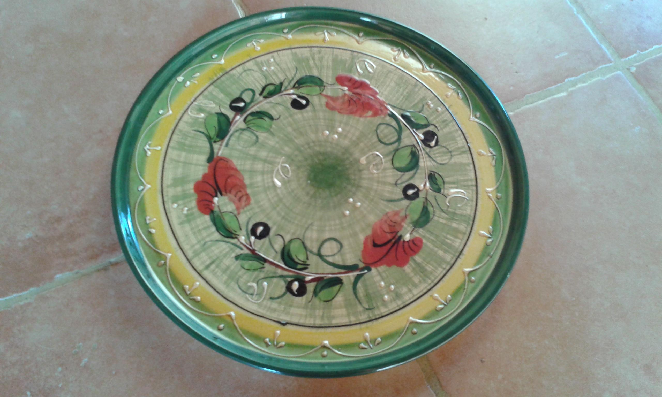 troc de troc grand plat à gâteau plat coloré image 0