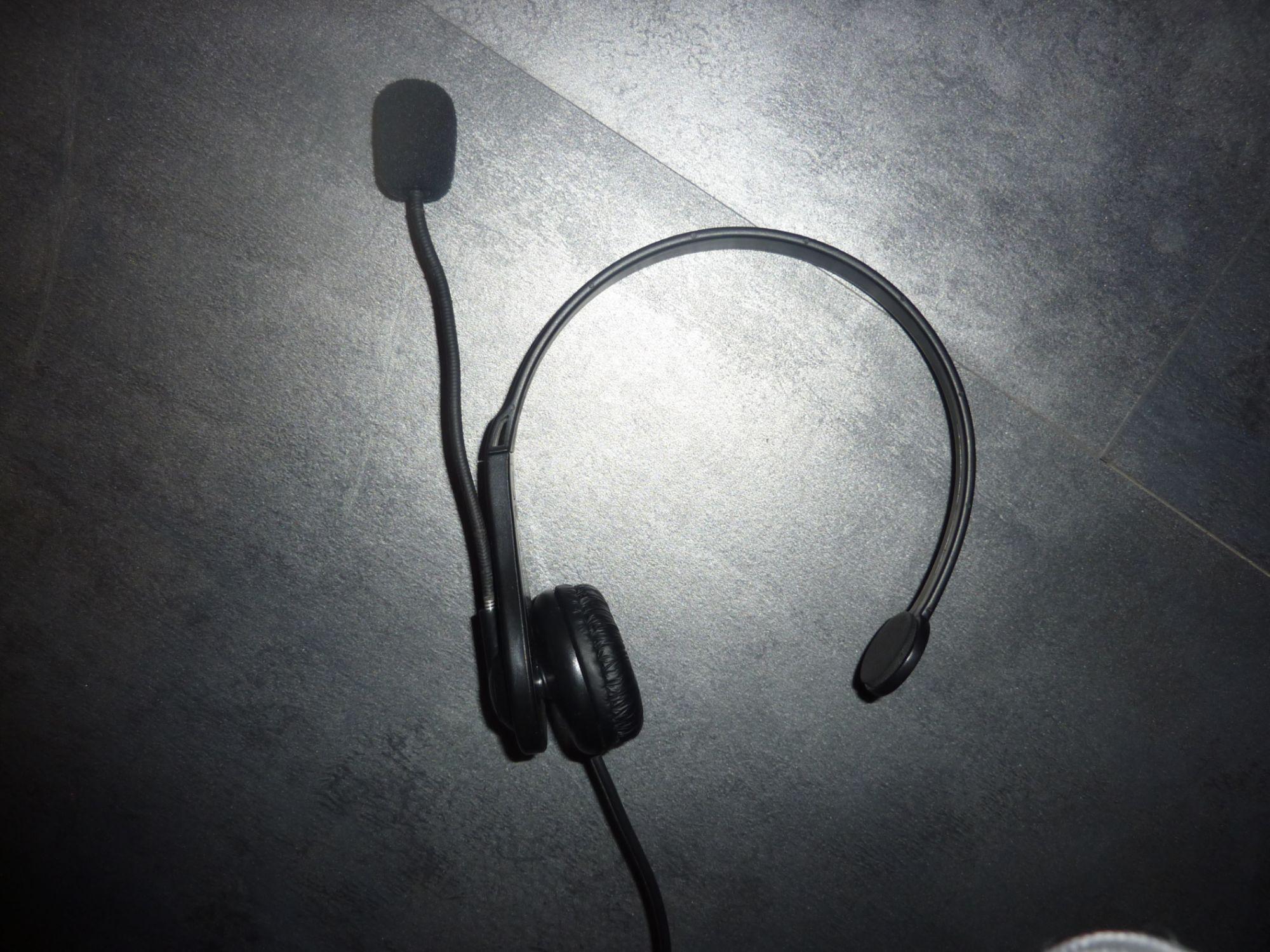troc de troc casque ps3 chat headset image 1