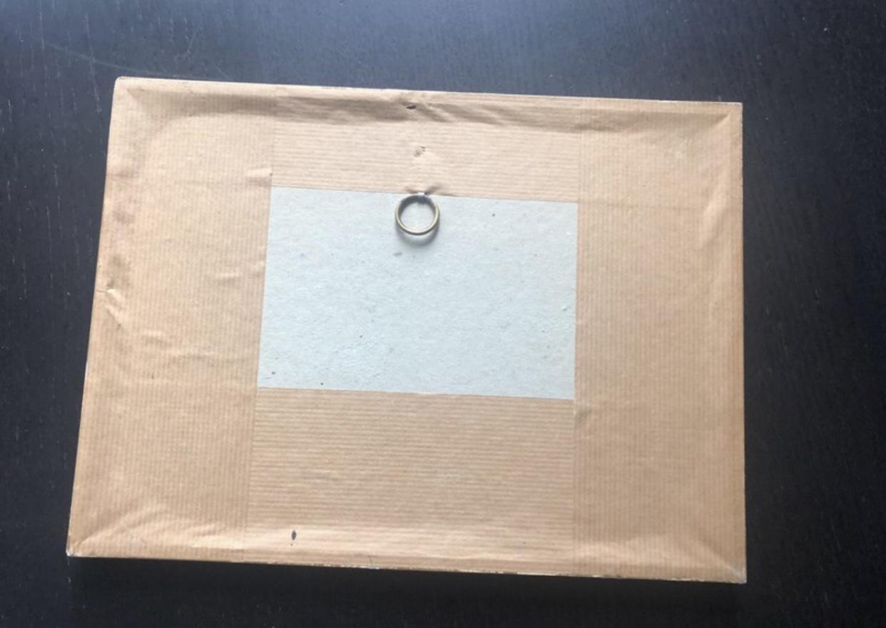 troc de troc réservé rare germaine bouret : cadre / gravure a la campagne, course avec image 2