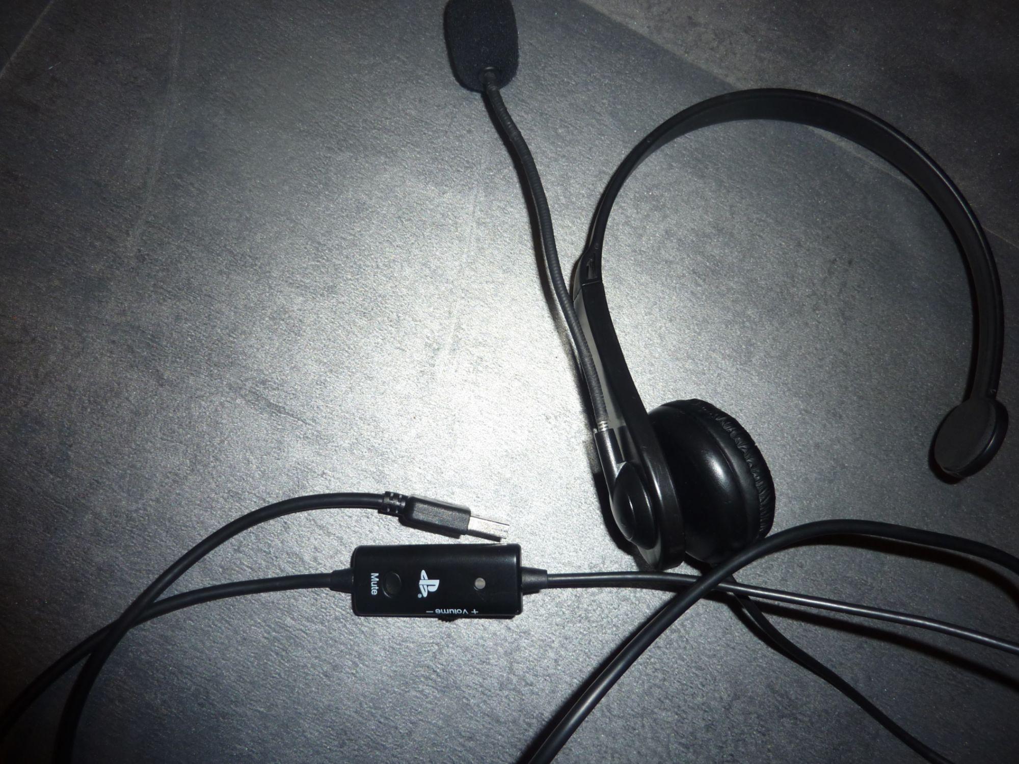 troc de troc casque ps3 chat headset image 0