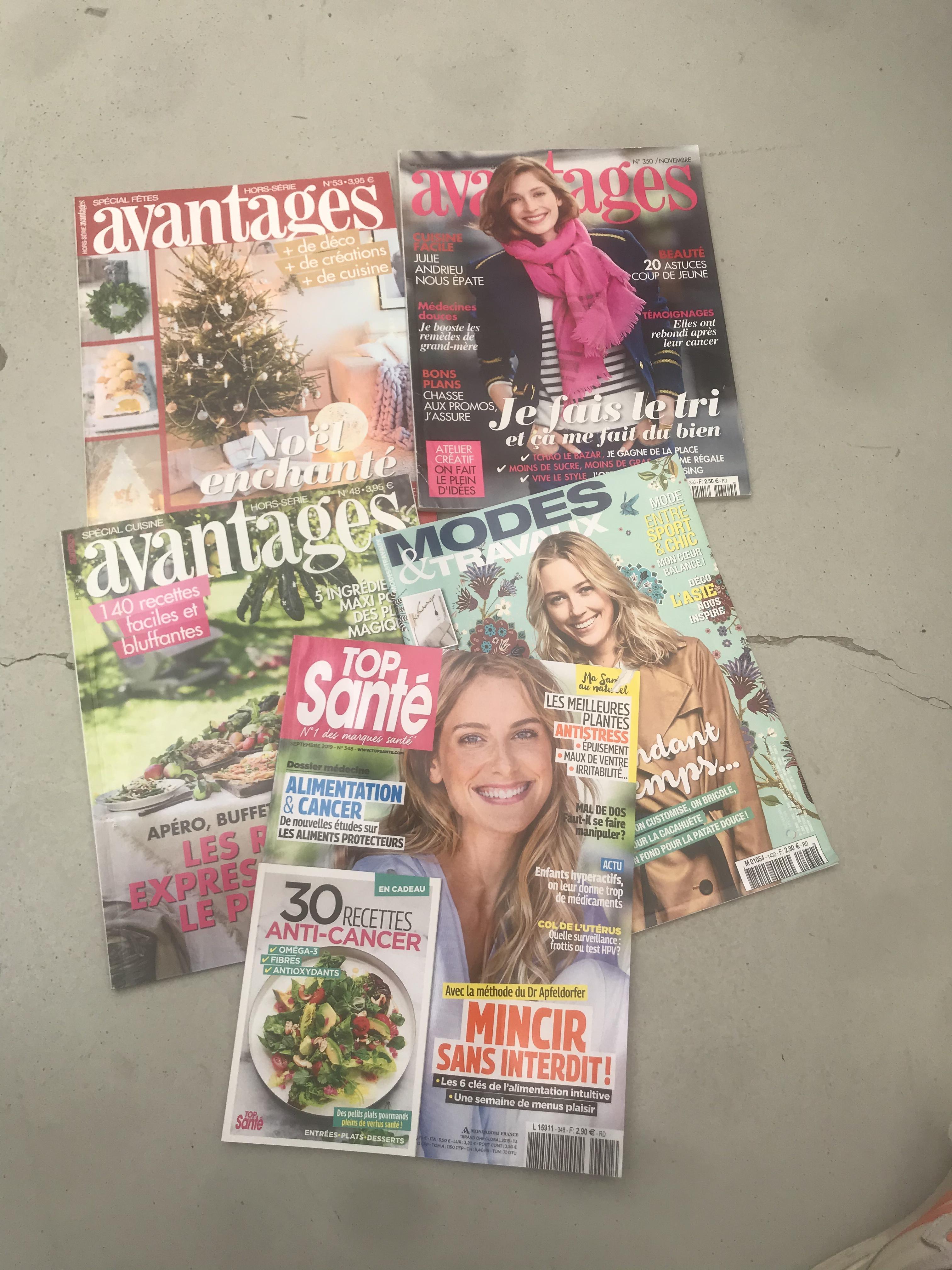 """troc de troc lot de 5 magazines """"lifestyle"""" image 0"""