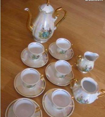 troc de troc service à thé/ café porcelaine image 0