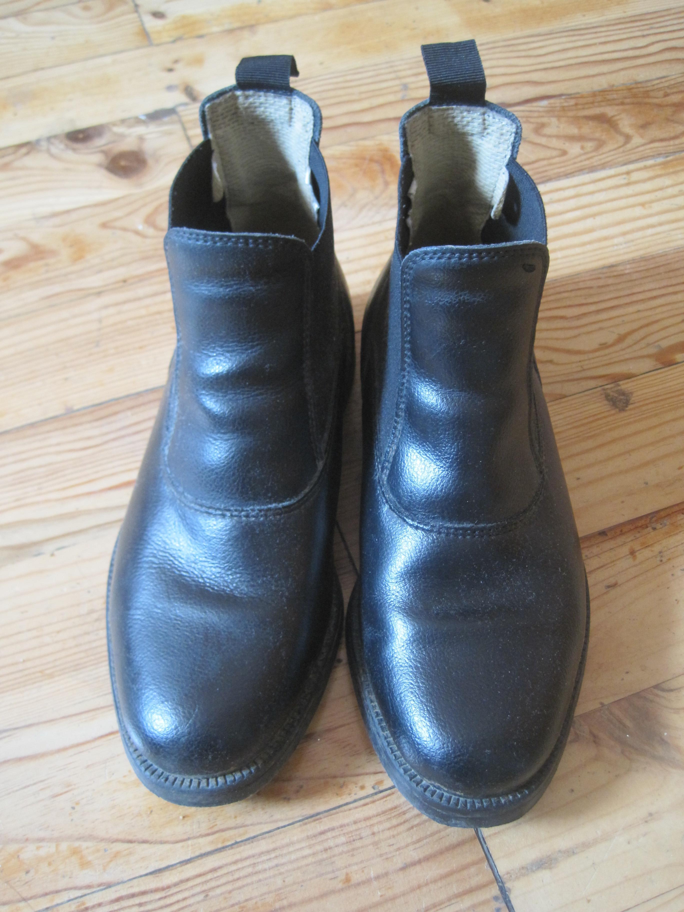 troc de troc bottines d'équitation en cuir, taille 36 image 0