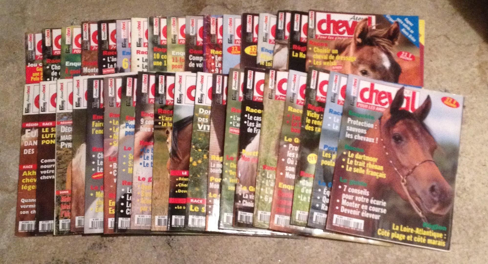 troc de troc 3 lots de magazine équestre image 2
