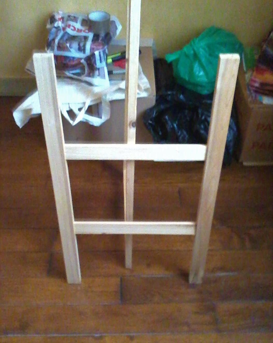 troc de troc urgent..etagere en bois.6 tablettes.1m 70 cm image 2