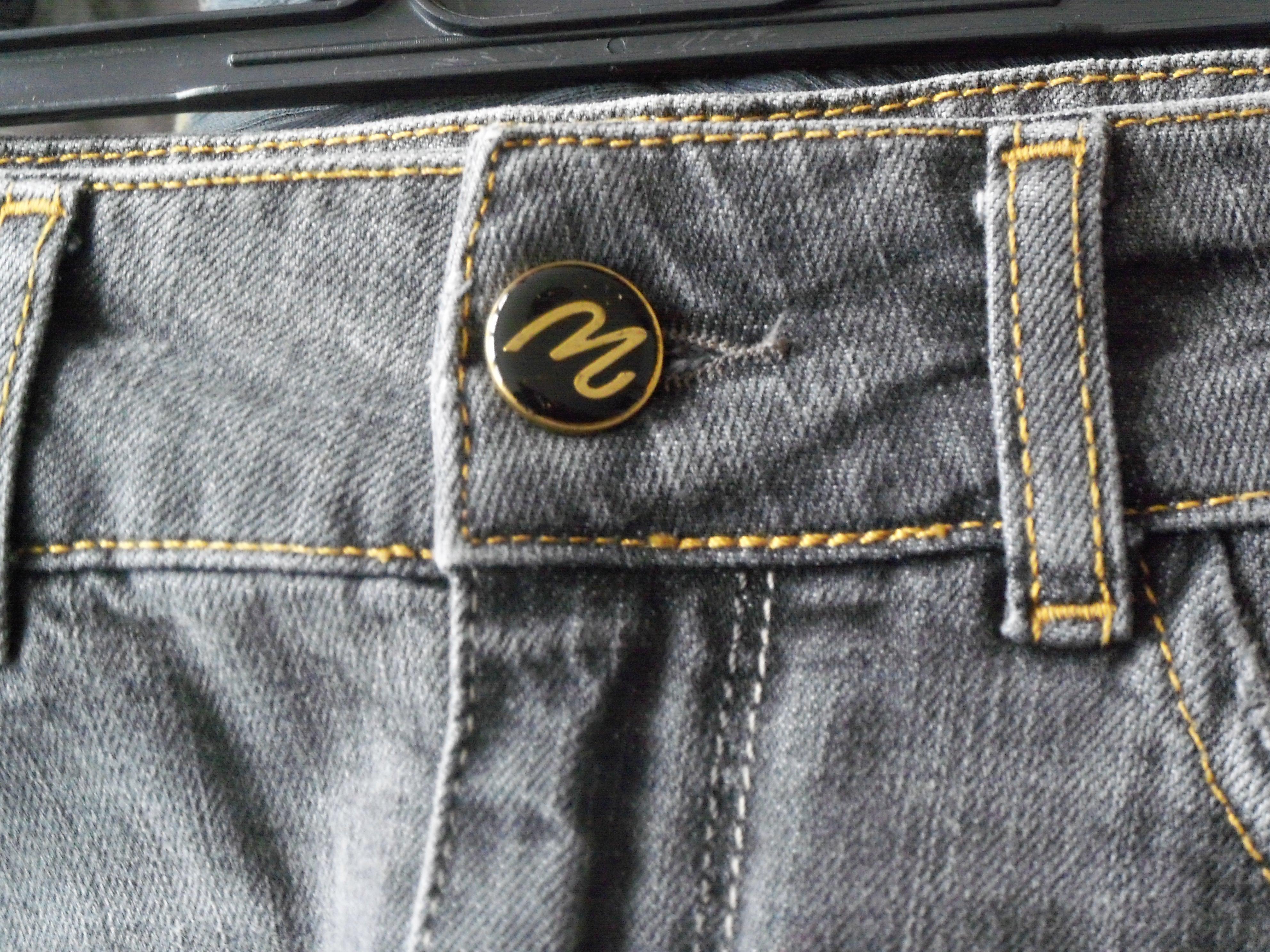 troc de troc jupe mango en jeans neuve t.38 image 2