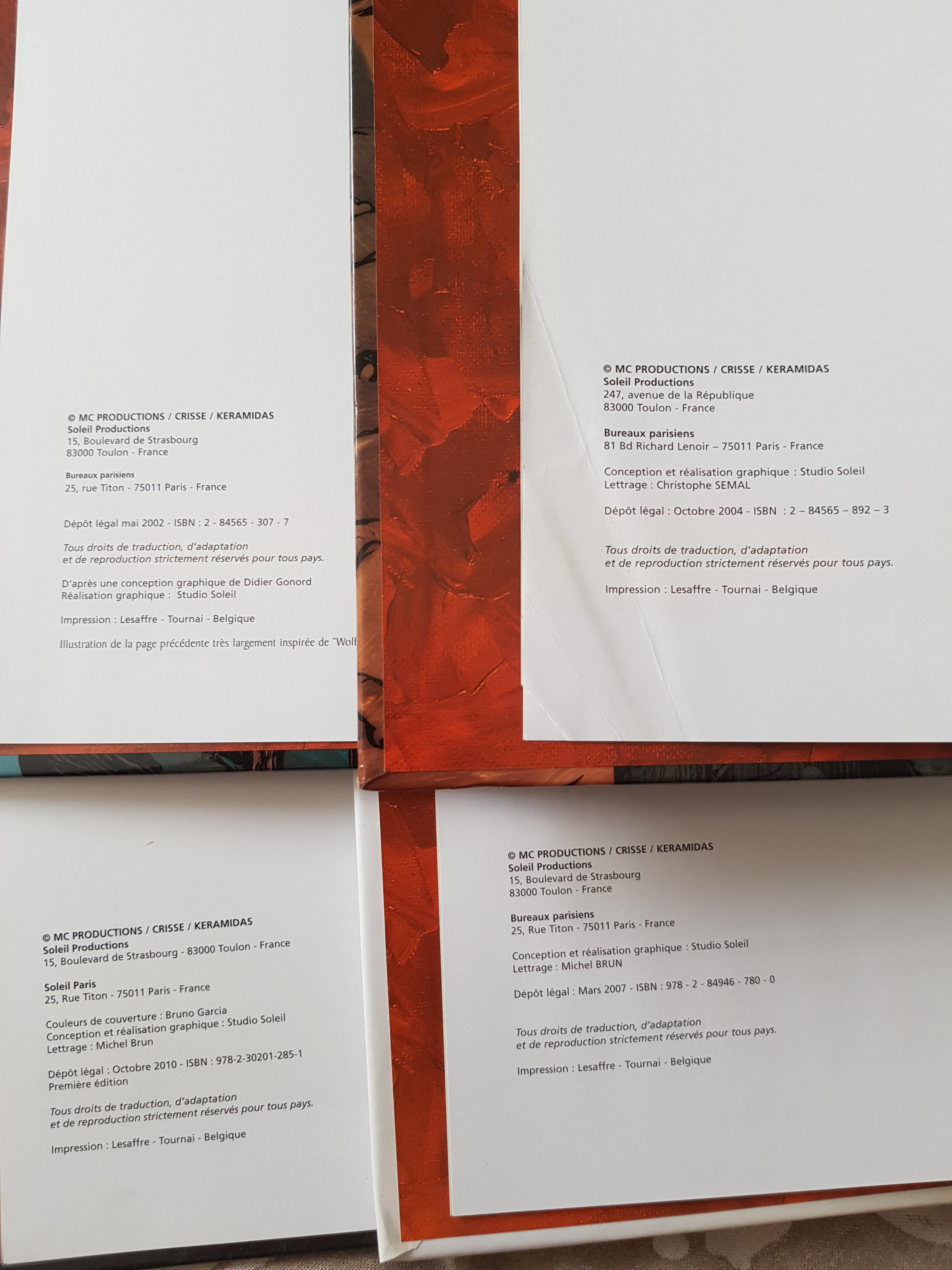 troc de troc luuna tomes 1, 3, 5 et 6 image 2