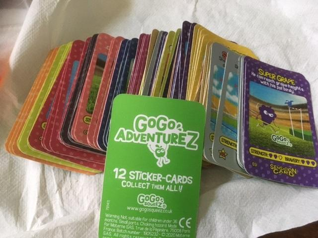 troc de troc cartes gogo adventurez image 0