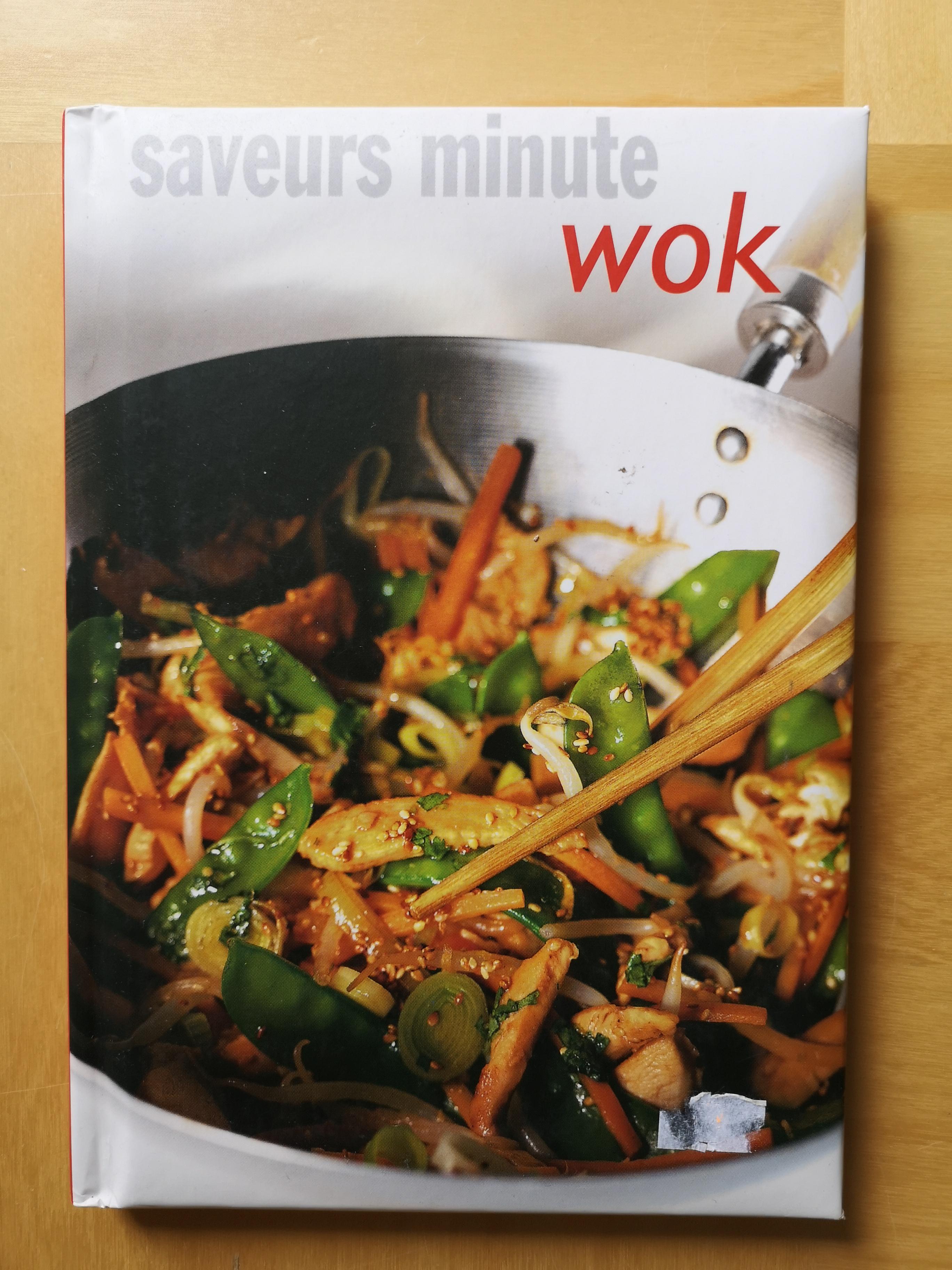 troc de troc livre de recettes au wok image 0