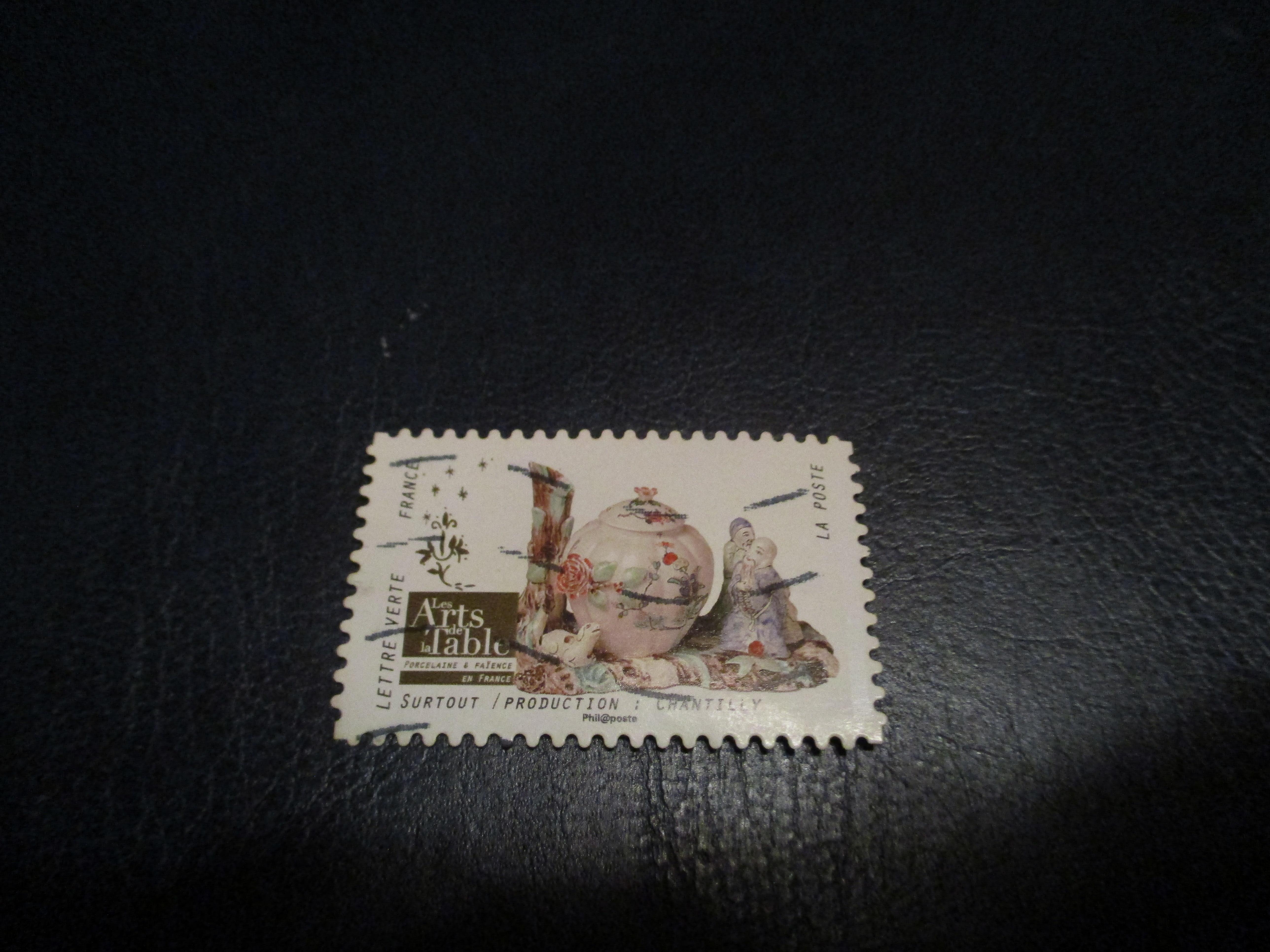 troc de troc timbre art de la table : surtout chantilly image 0