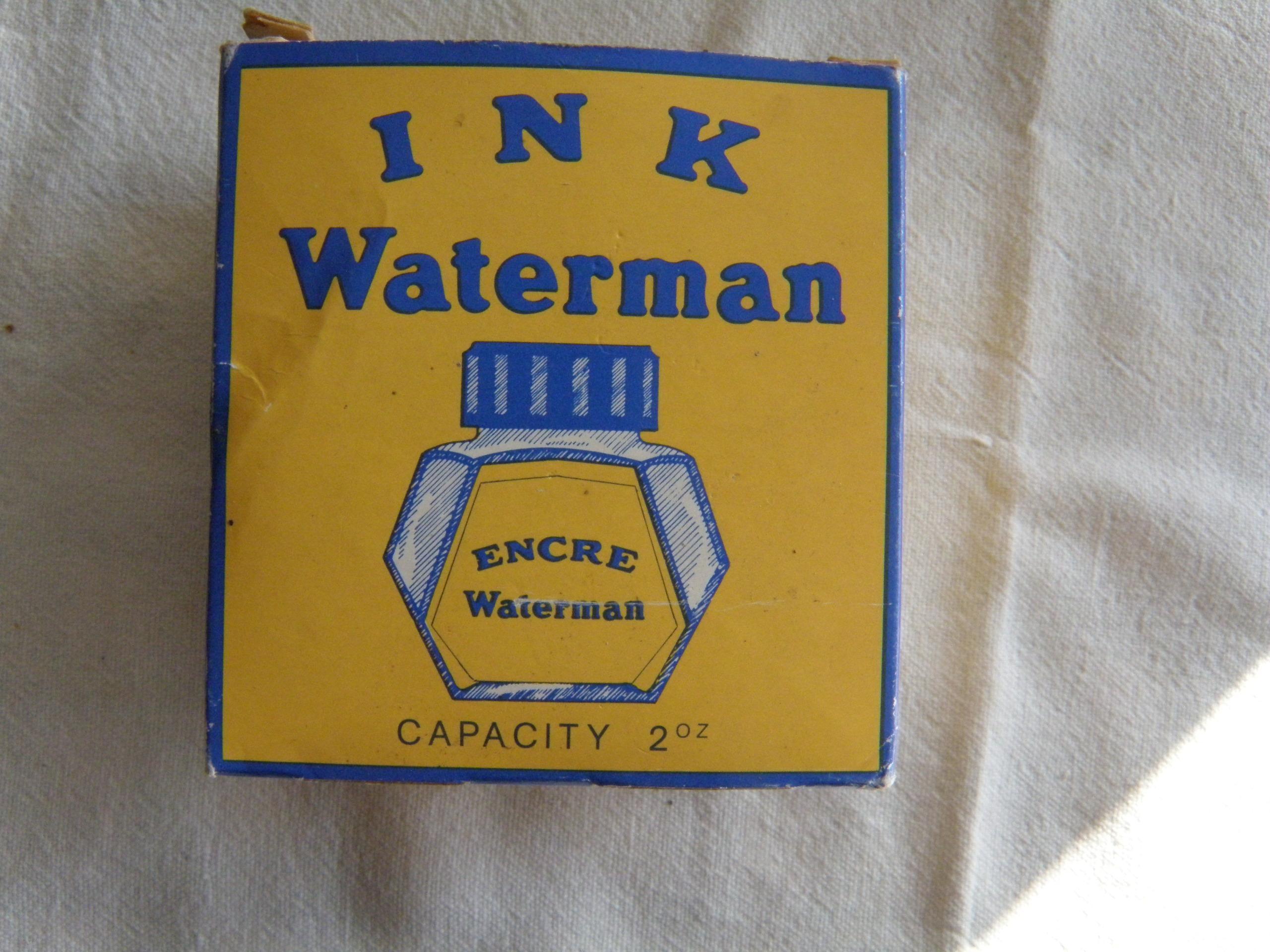 troc de troc réservé dauvpic bouteille encre waterman bleu, à moitié image 2