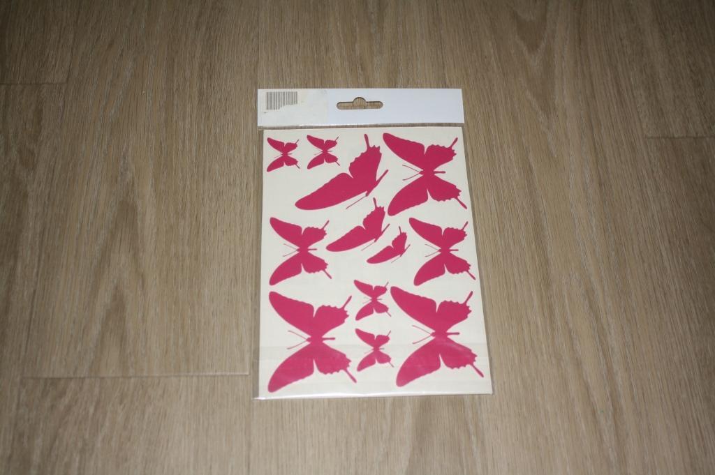 troc de troc planche de stickers papillon image 0