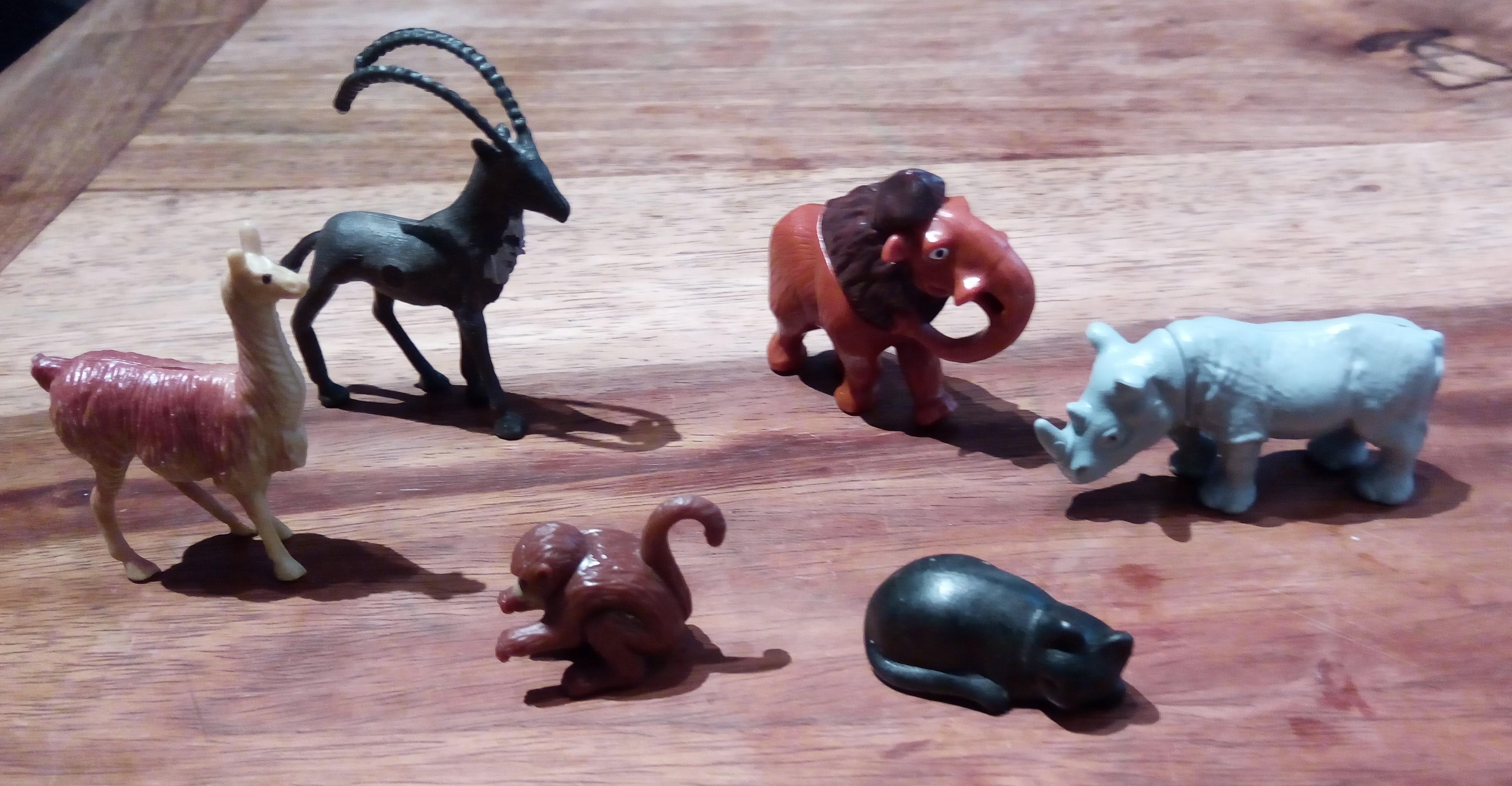 troc de troc lot de petits animaux variés image 0