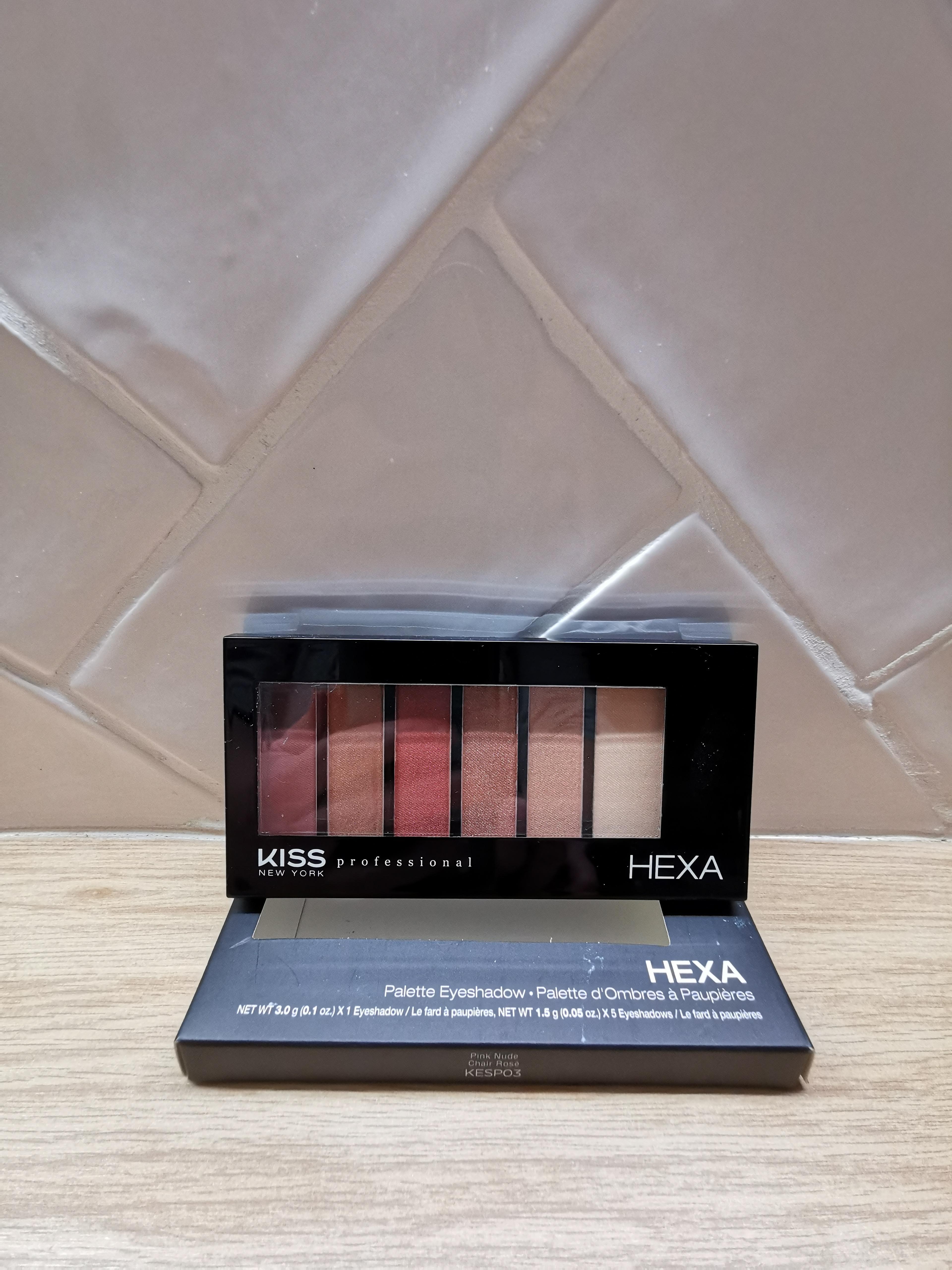 troc de troc kiss new york - palette de fards à paupières kesp03 pink nude image 0