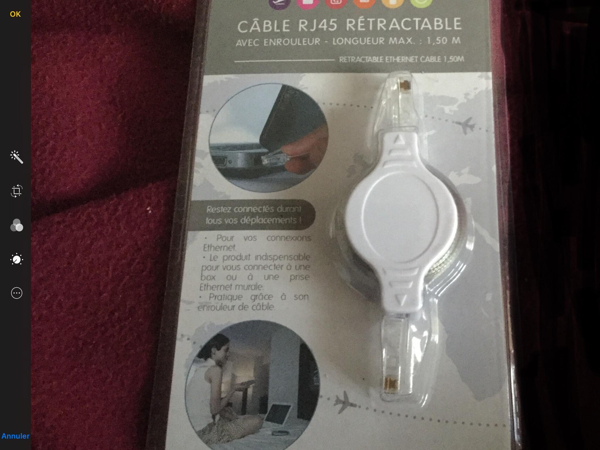 troc de troc câble  ethernet image 0