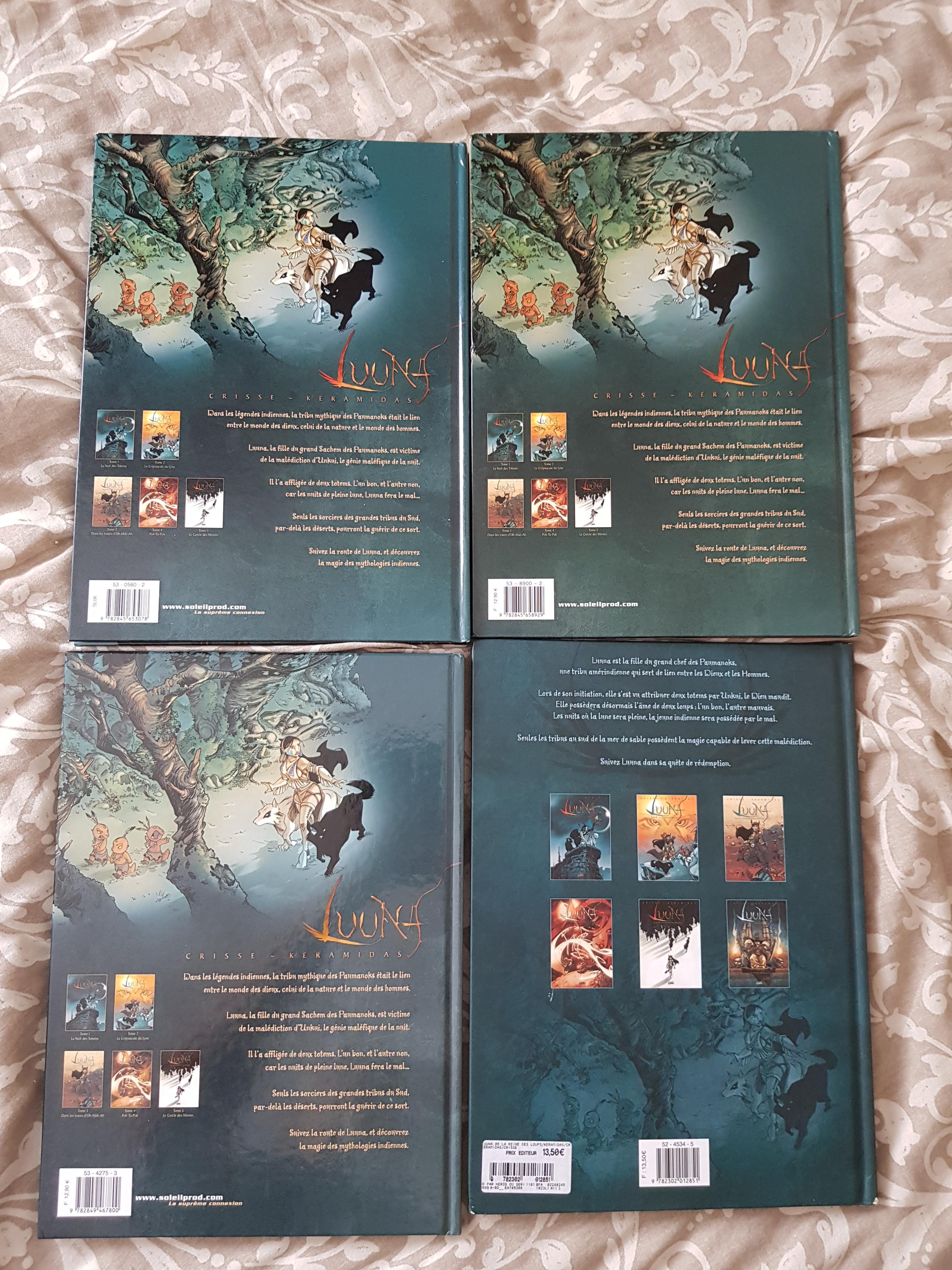 troc de troc luuna tomes 1, 3, 5 et 6 image 1