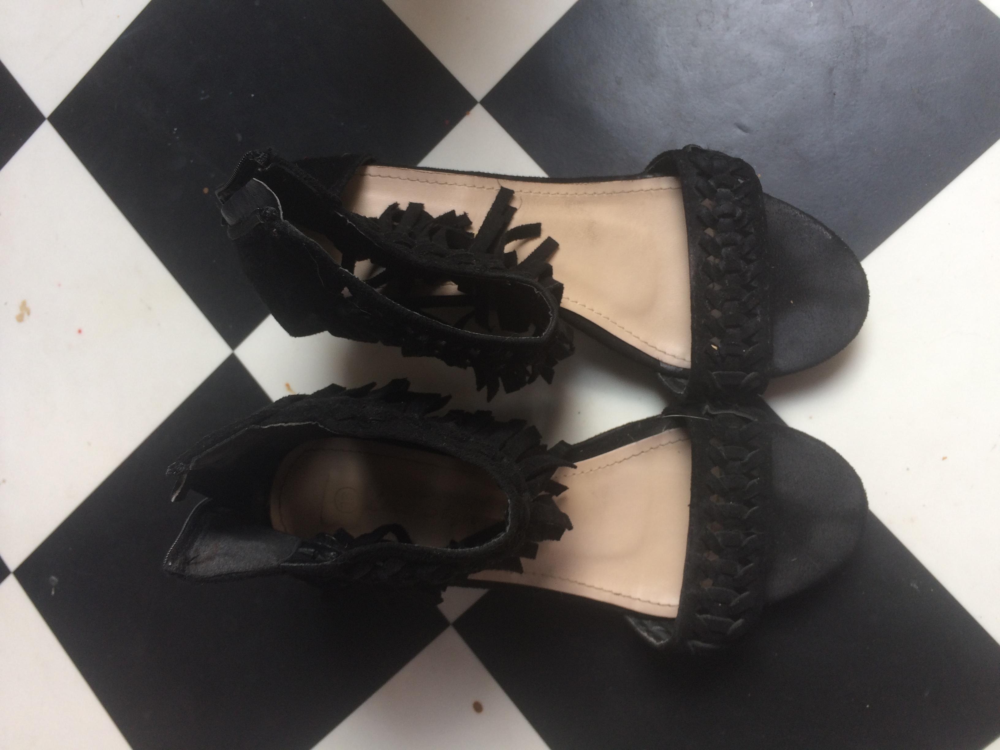 troc de troc sandales compensées t37 image 0