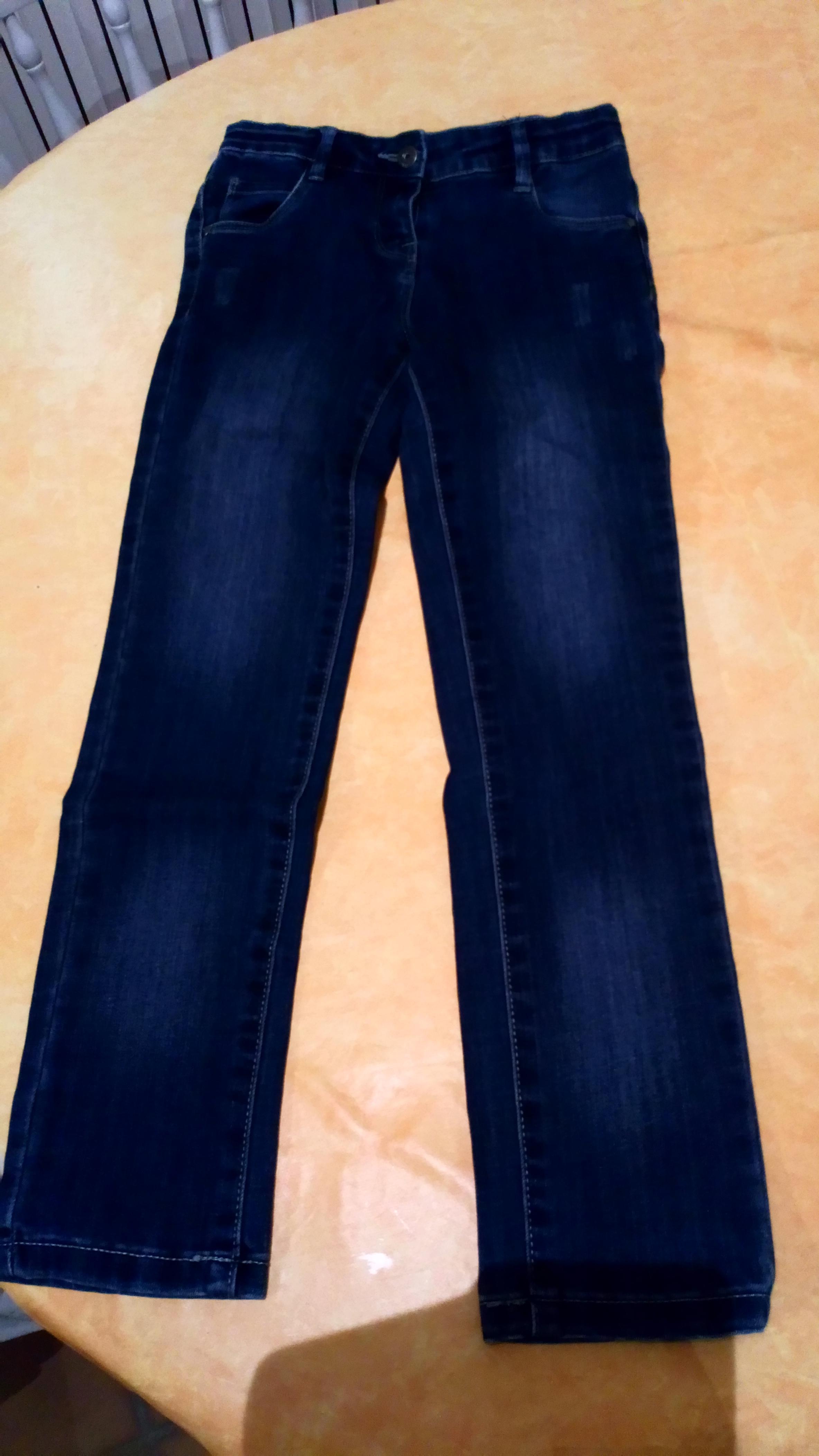 troc de troc jean bleu foncé verbaudet image 0